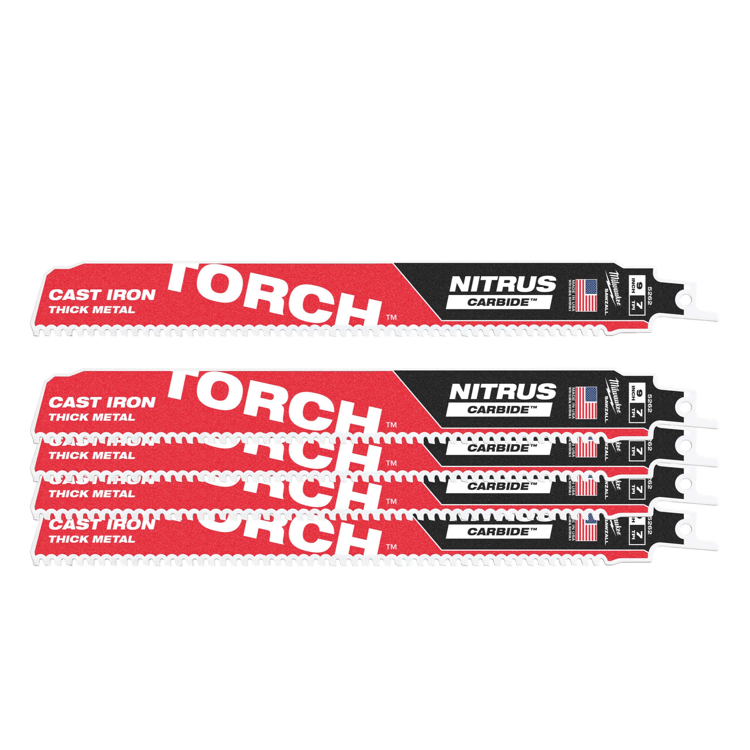 Pilové plátky TORCH Nitrus 230/7Tpi (5 ks)