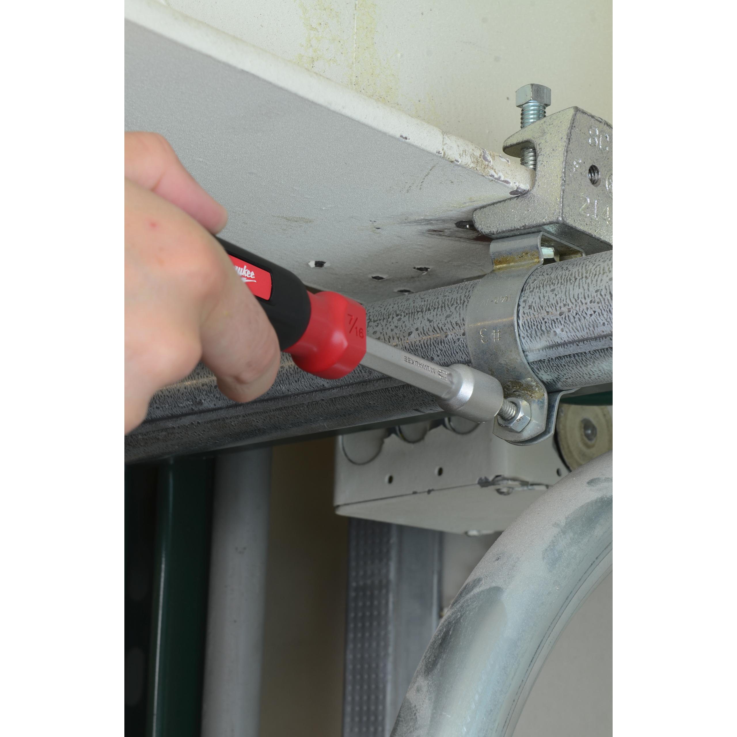 HOLLOWCORE™ magnetické trubkové šroubováky 6mm - Červená