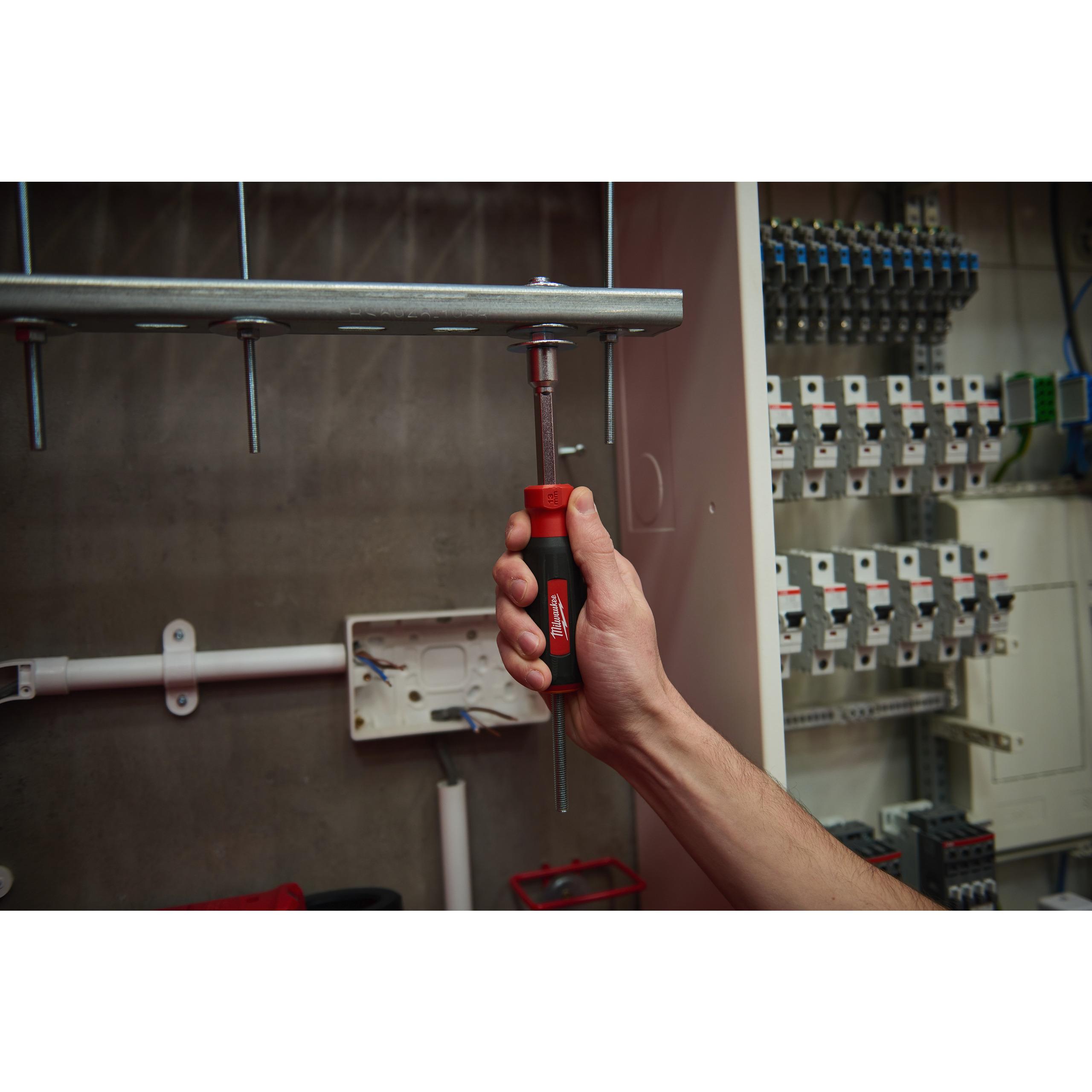 HOLLOWCORE™ magnetické trubkové šroubováky 13mm - Oranžová