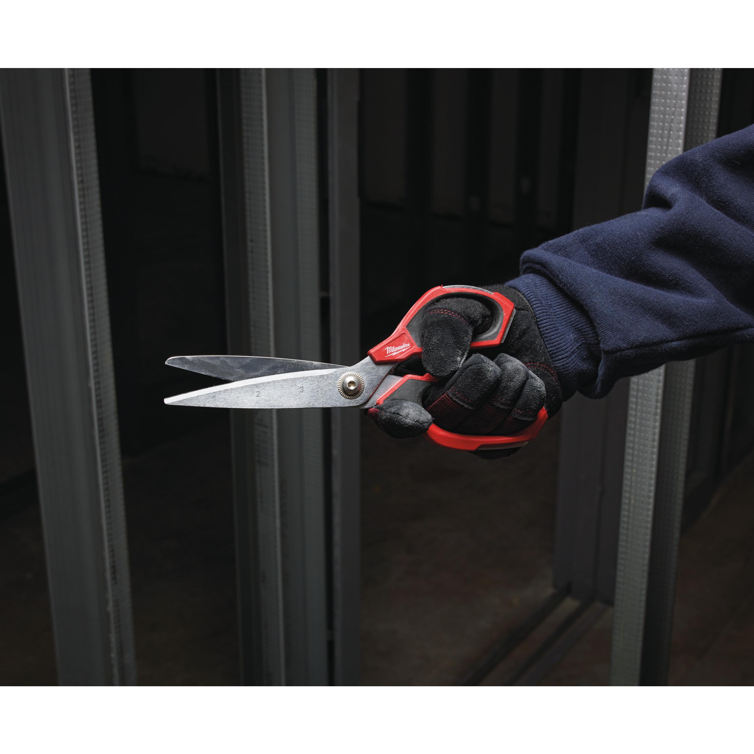 Technické nůžky rovné