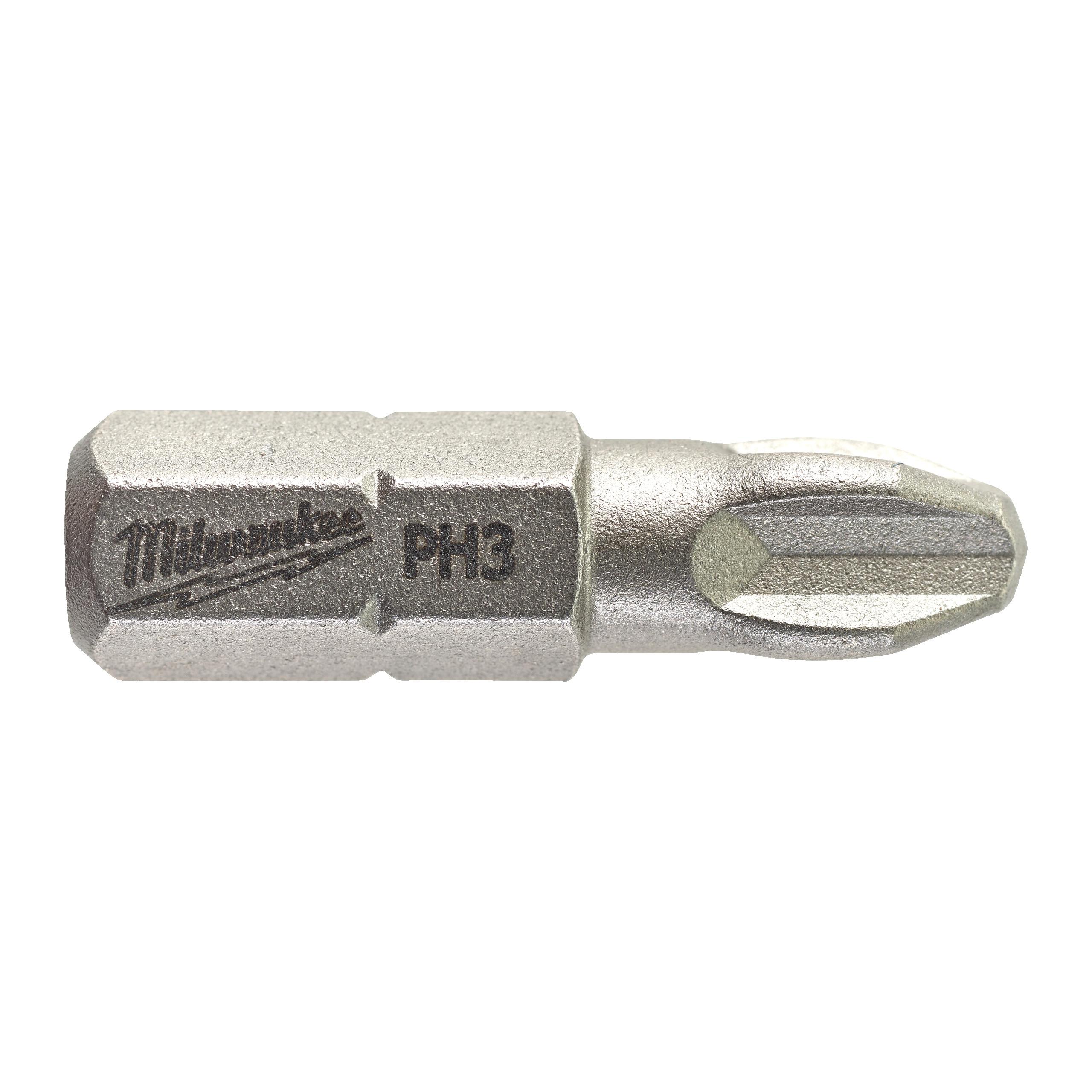 Šroubovací bity PH3,25mm (25ks)