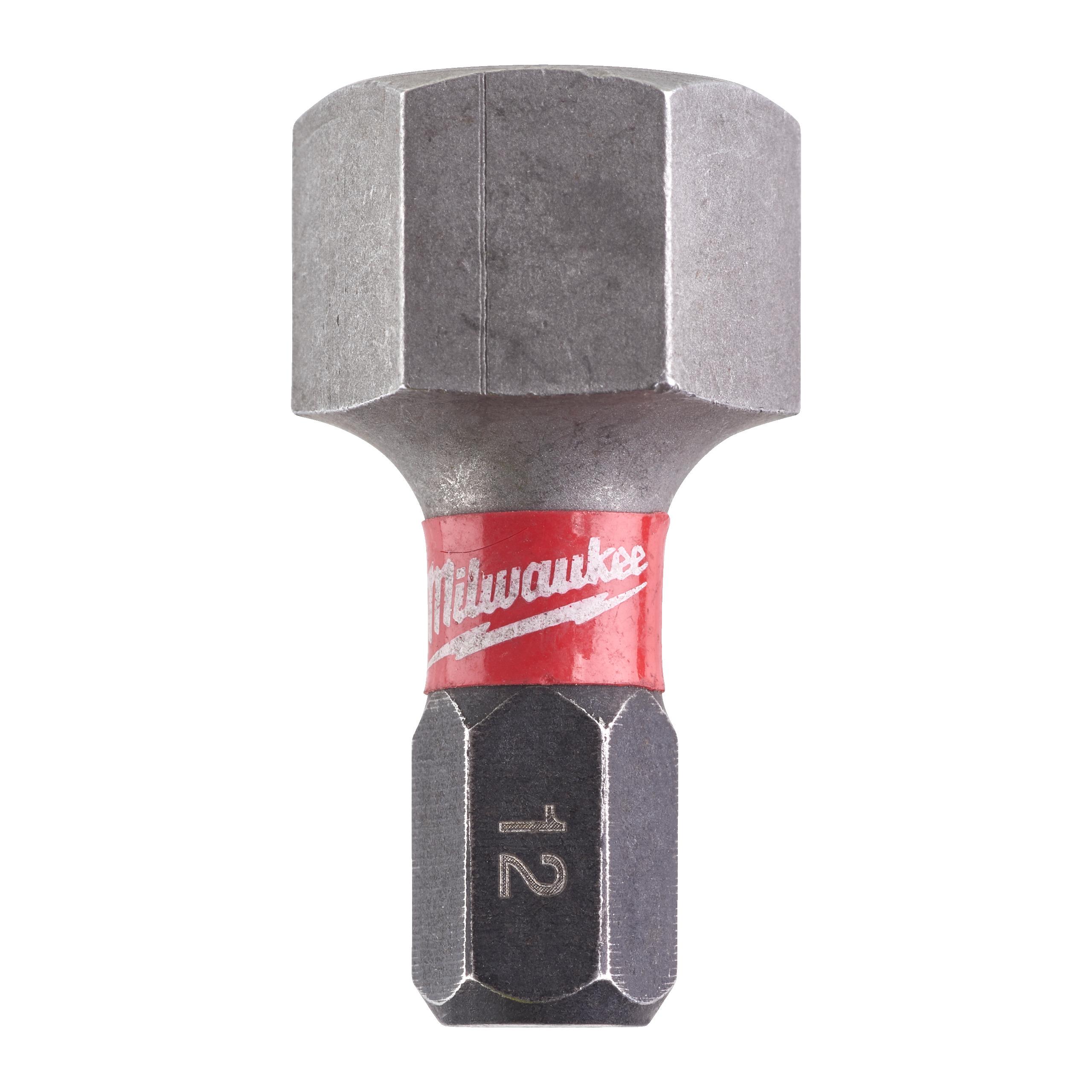 Šroubovací bity ShW Hex12 25mm - 2ks