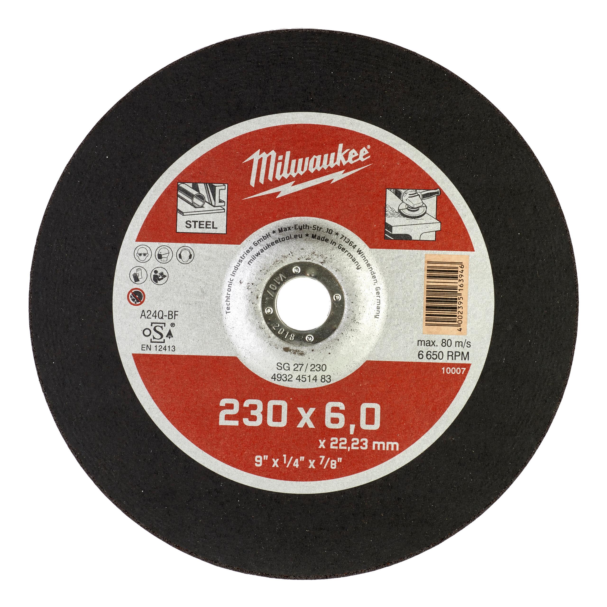 Brusný kotouč SG27/230, 230X6 - 1ks na kov