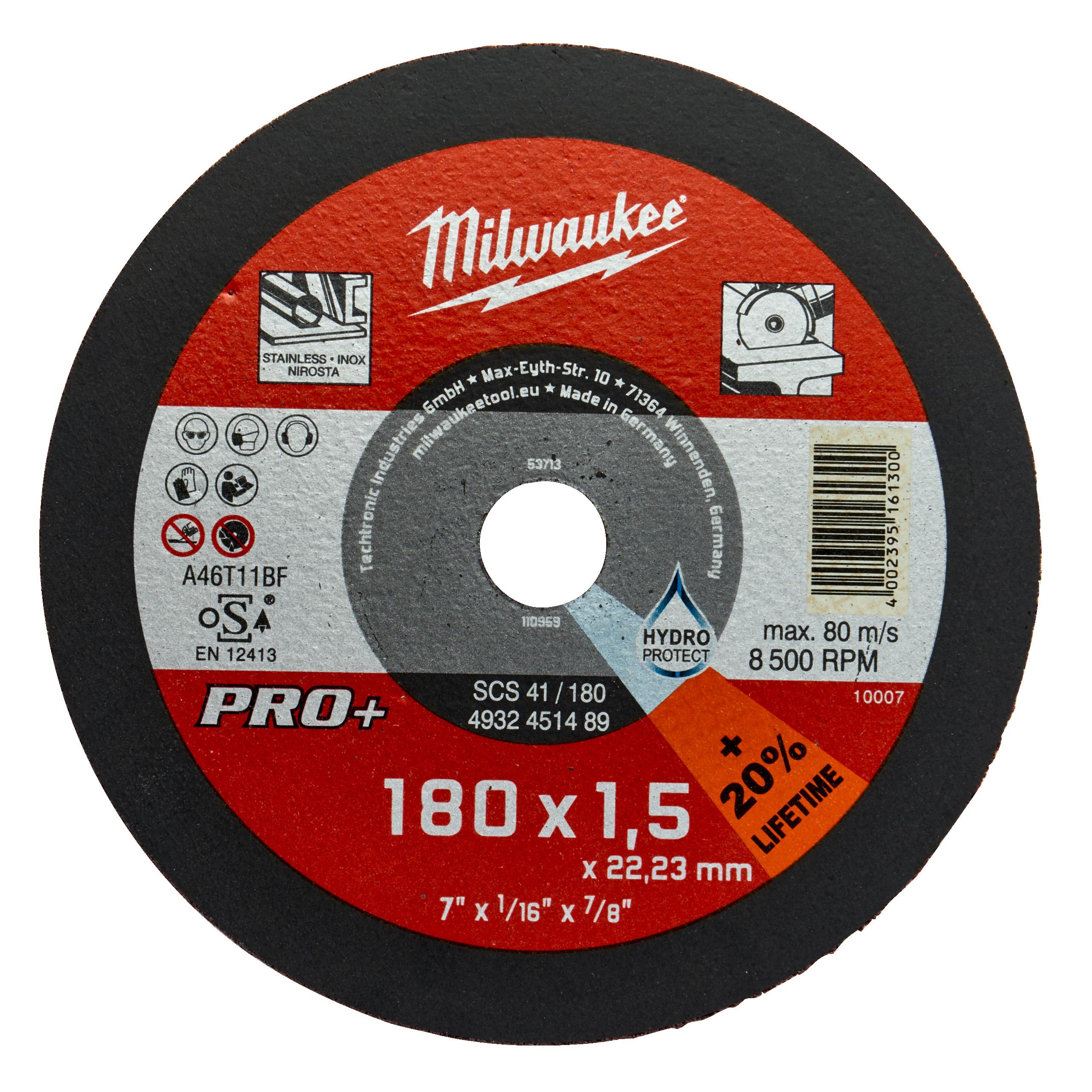 CutWSCS 41/180X1,5 PRO+ řezný kotouč-1ks