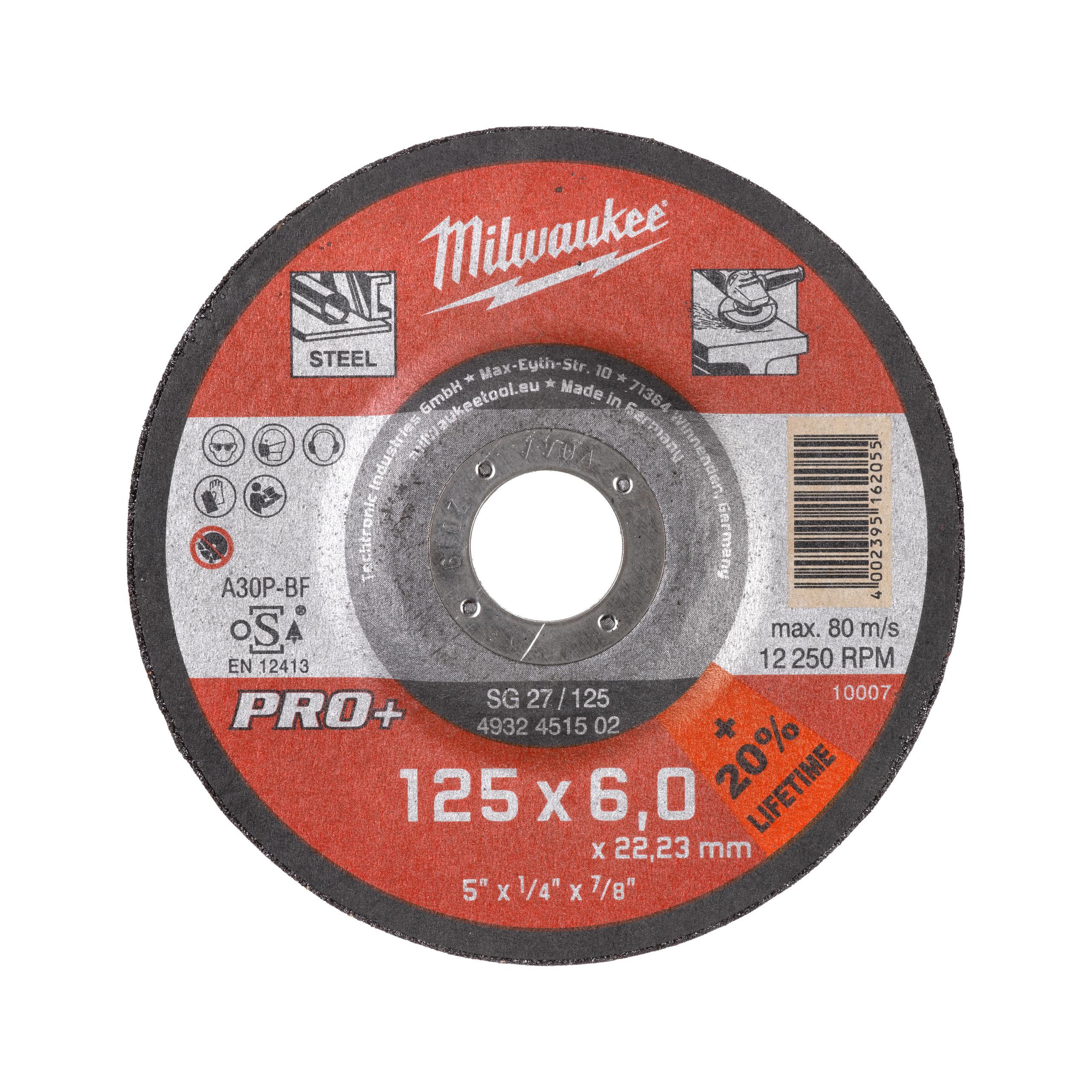 GrW SG27/125X6 PRO+ brusný kotouč - 1ks