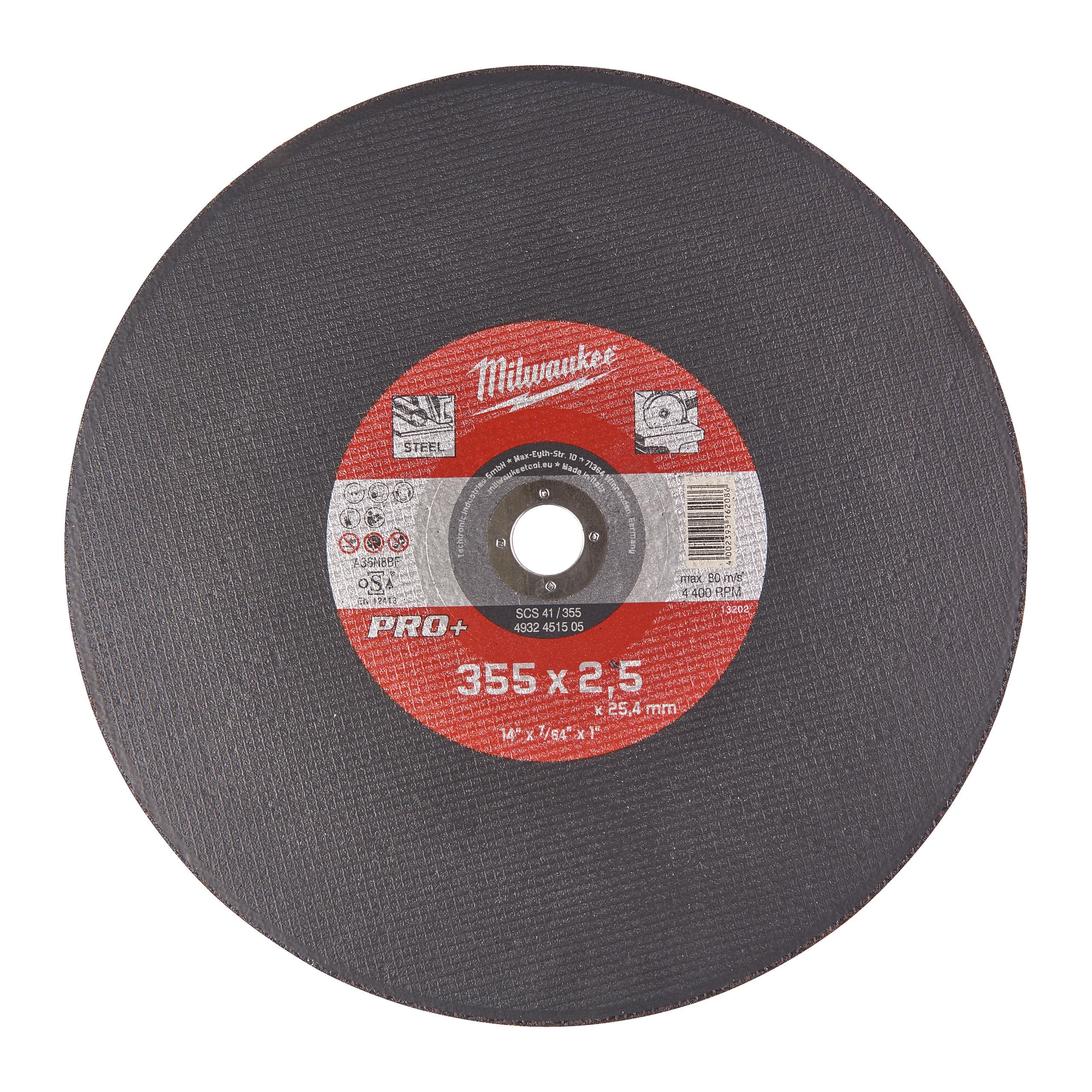 CutWSC 41/355X2,5 PRO+ řezný kotouč -1ks
