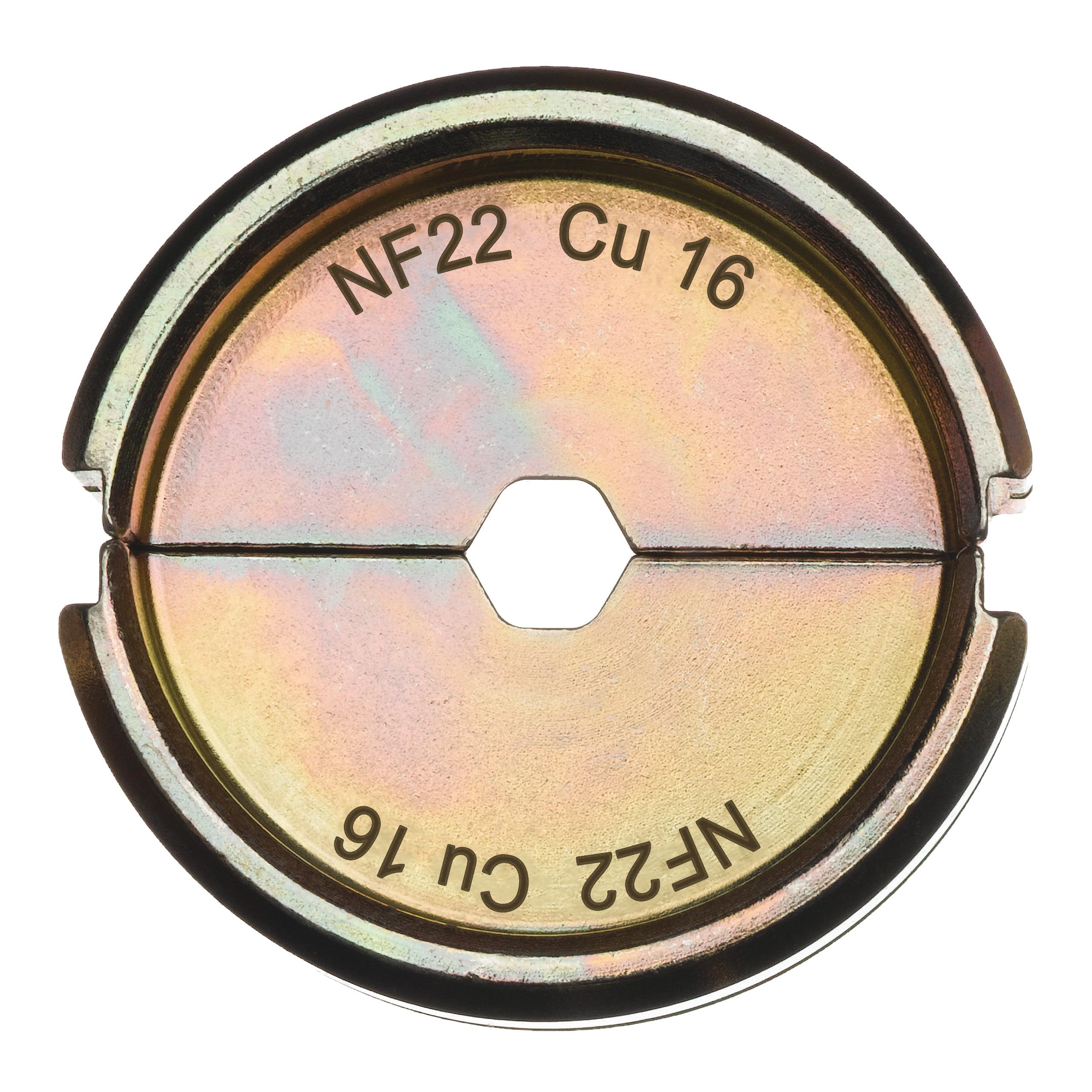 Krimpovací čelisti  NF22 Cu 16