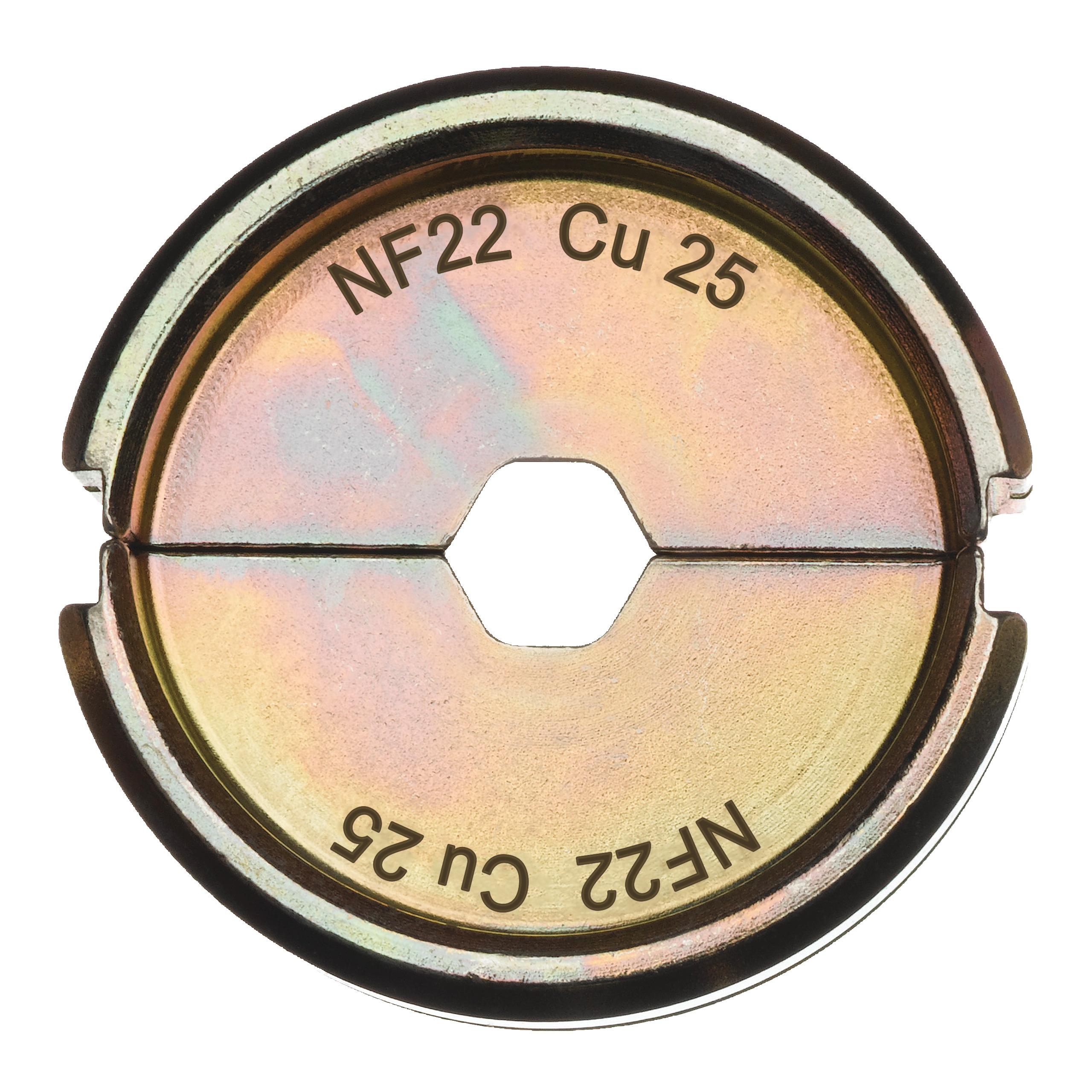 Krimpovací čelisti  NF22 Cu 25