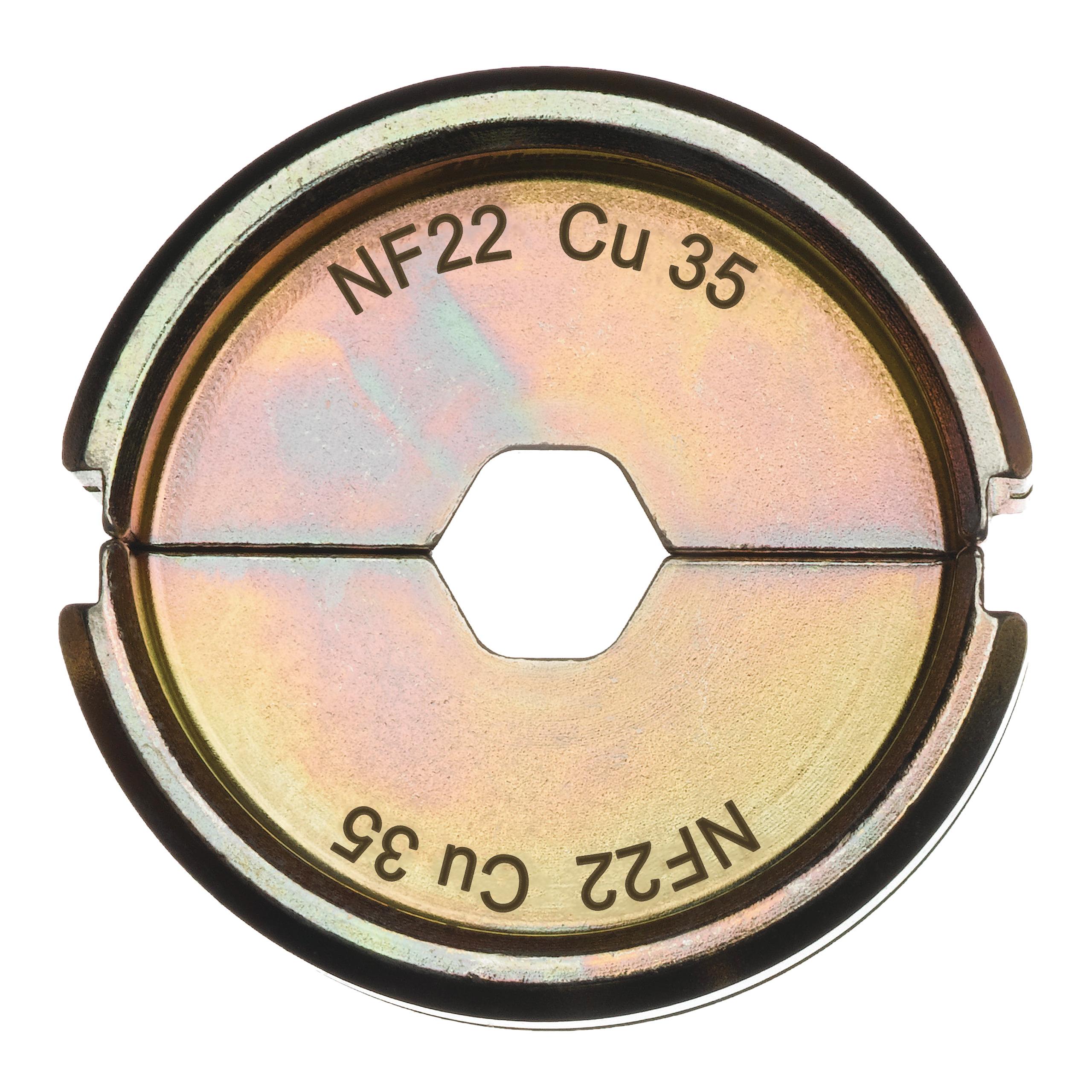 Krimpovací čelisti  NF22 Cu 35
