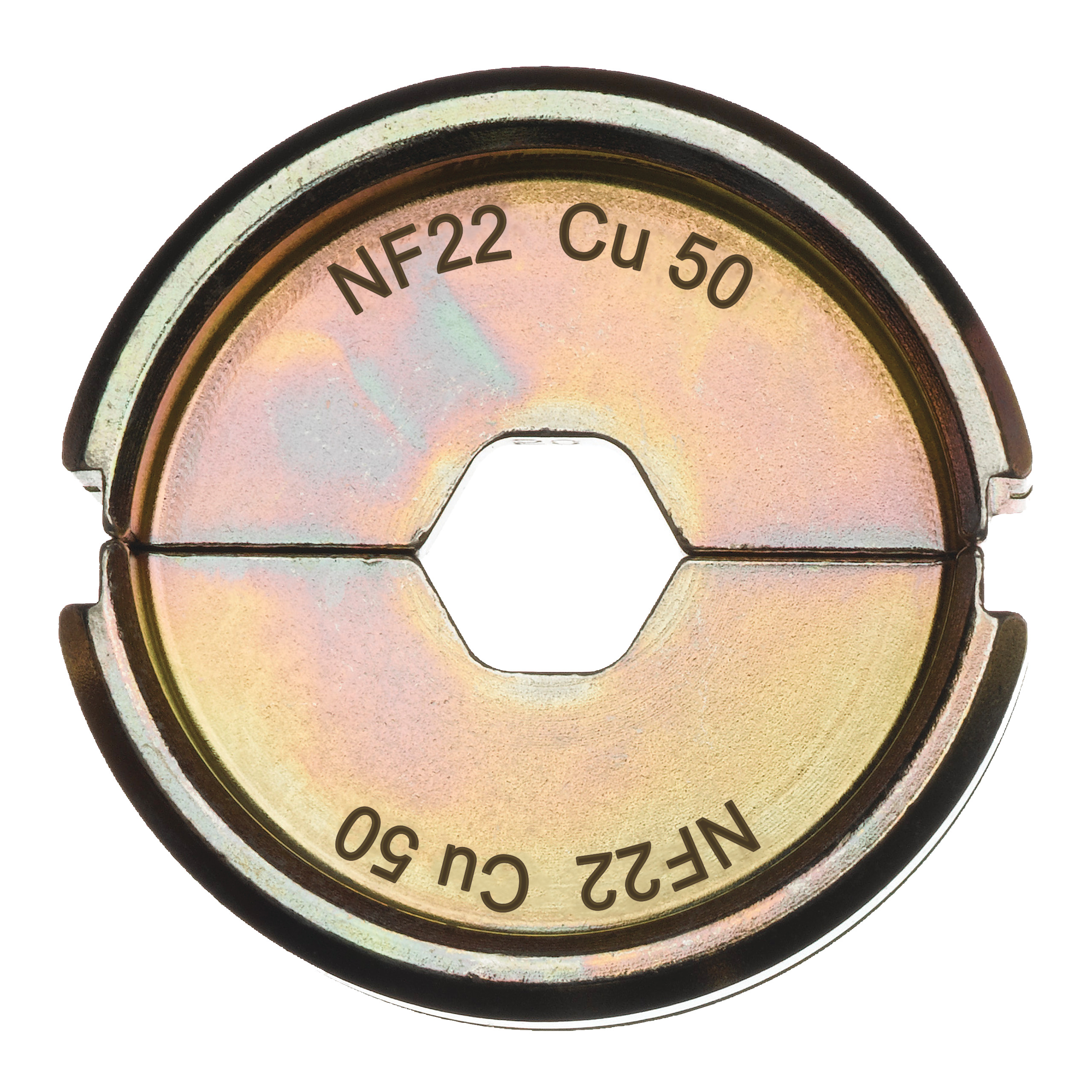 Krimpovací čelisti  NF22 Cu 50