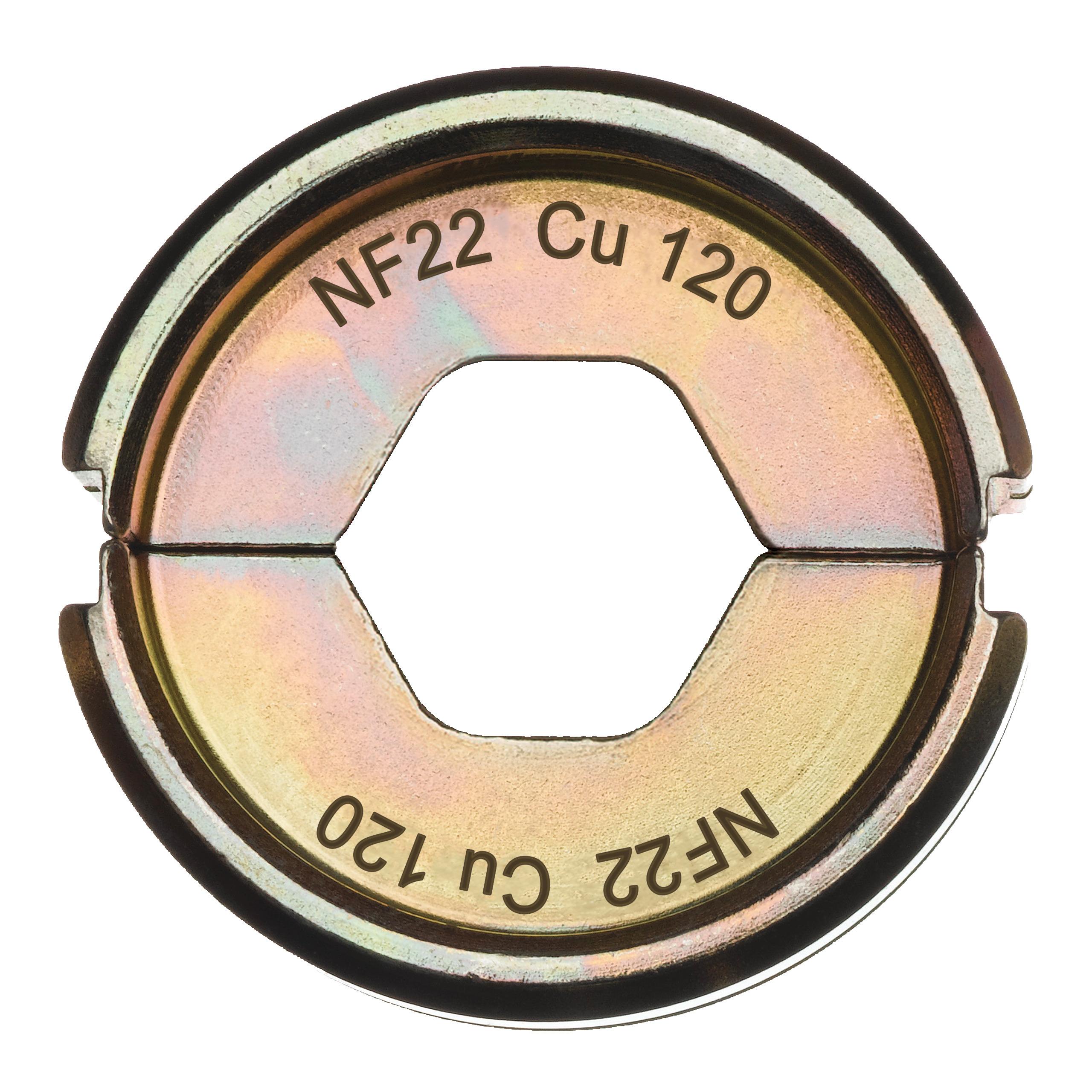 Krimpovací čelisti  NF22 Cu 120