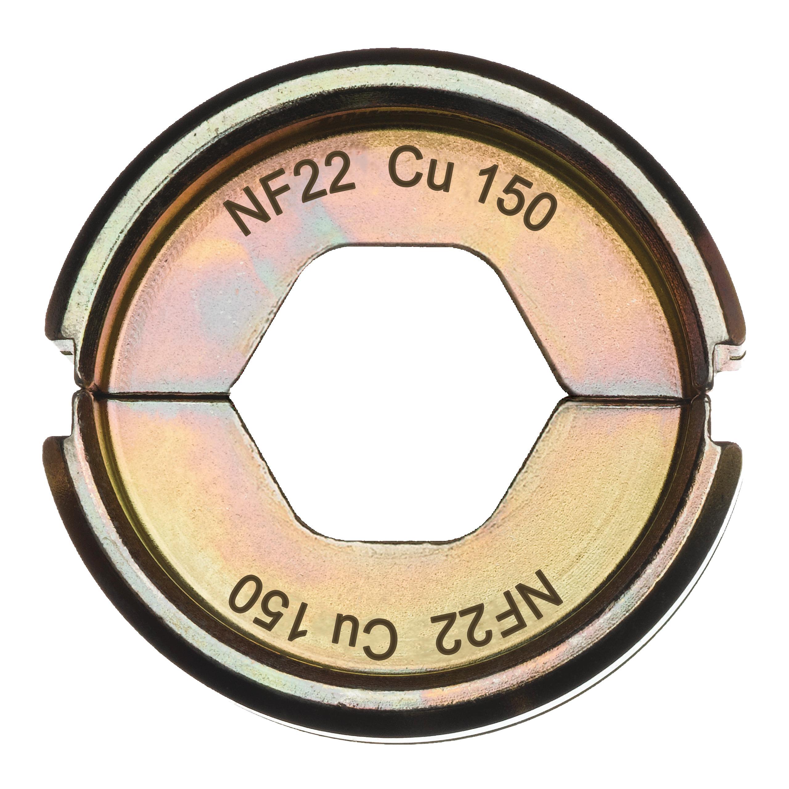 Krimpovací čelisti  NF22 Cu 150