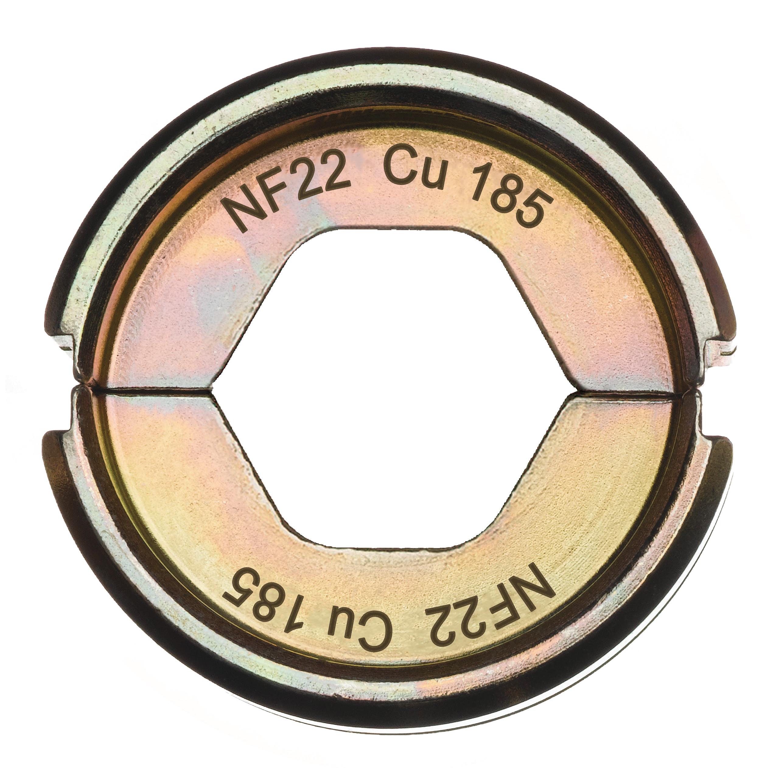 Krimpovací čelisti  NF22 Cu 185
