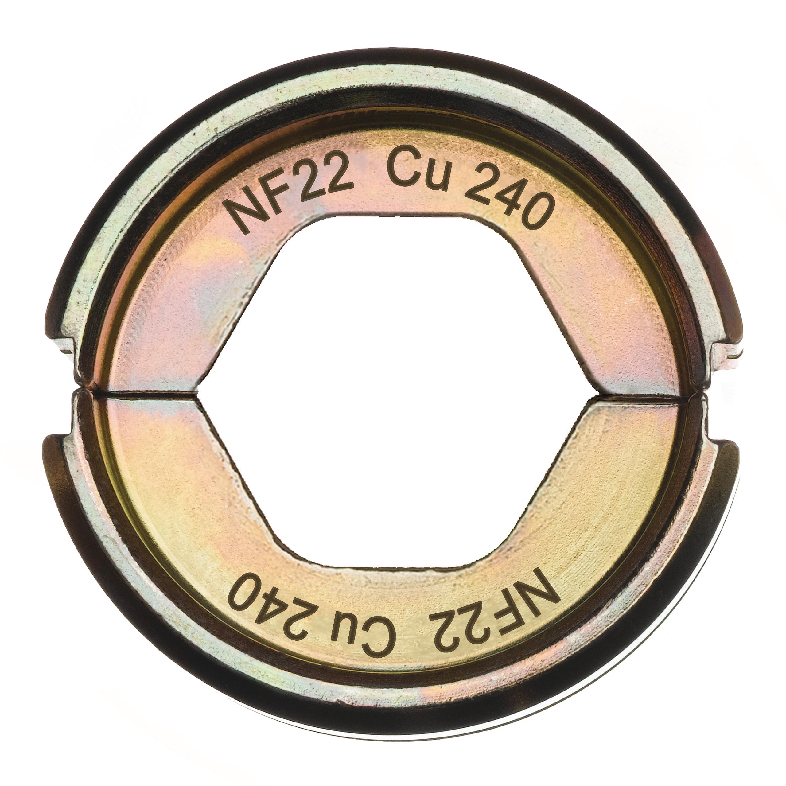 Krimpovací čelisti  NF22 Cu 240