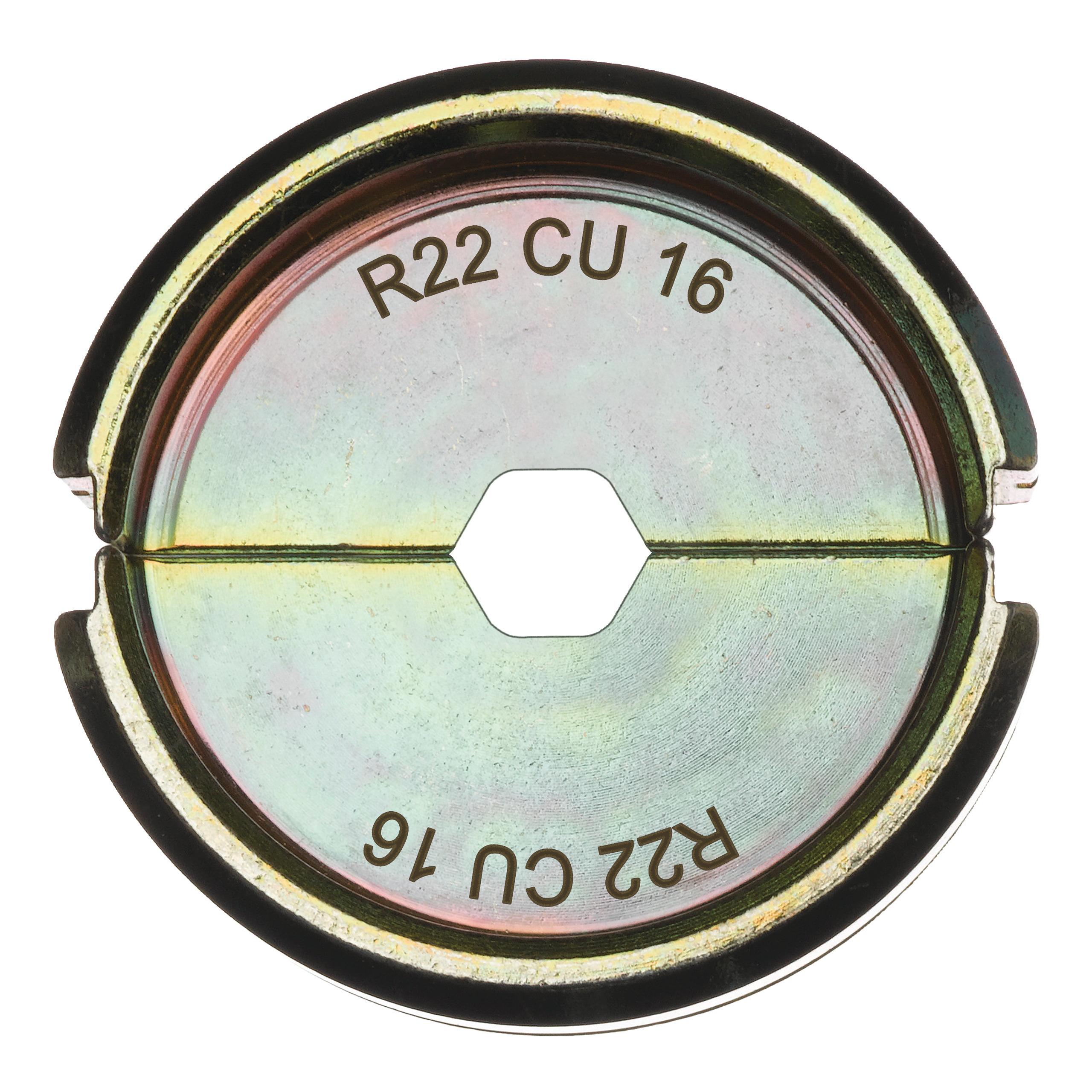 Krimpovací čelisti  R22 Cu 16