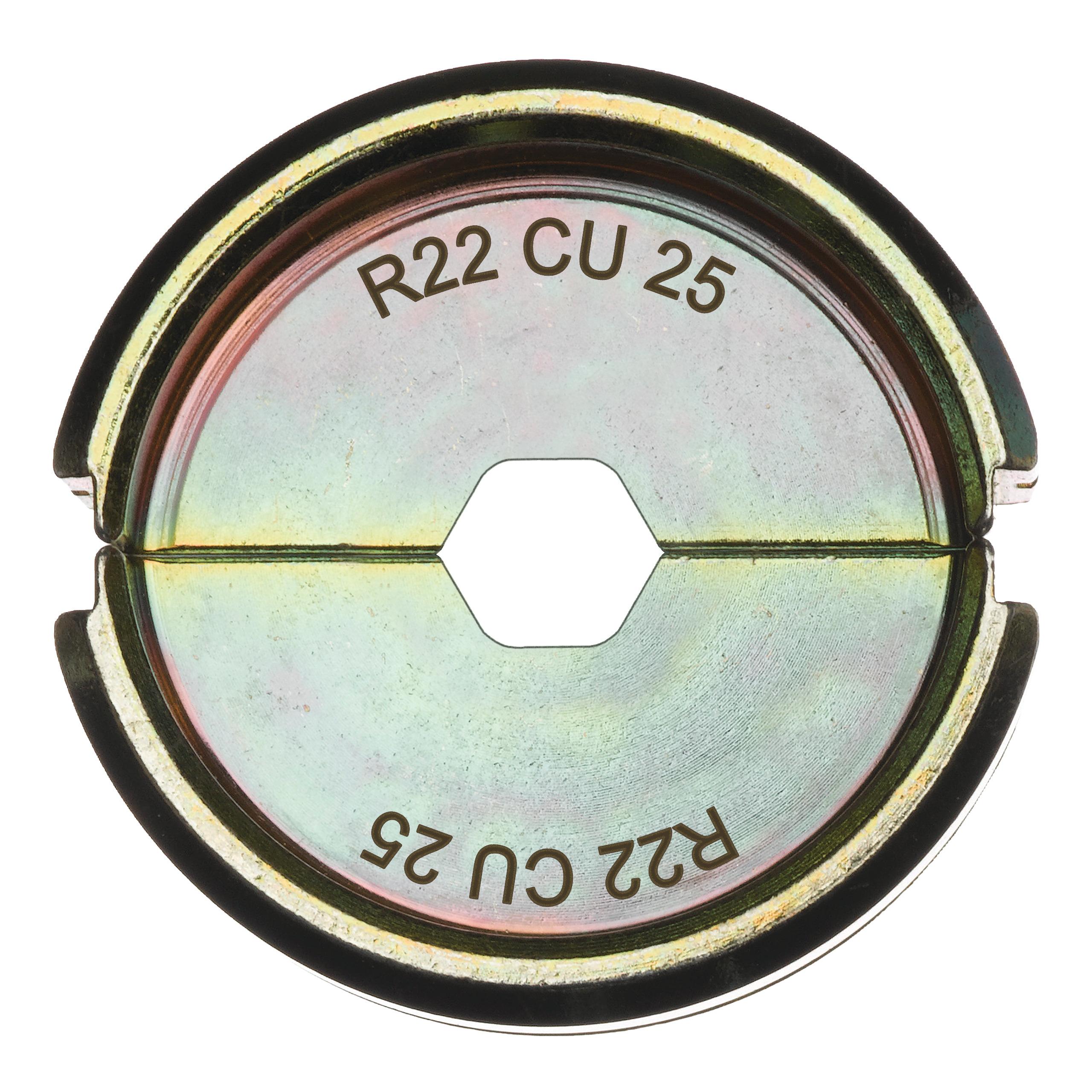 Krimpovací čelisti  R22 Cu 25