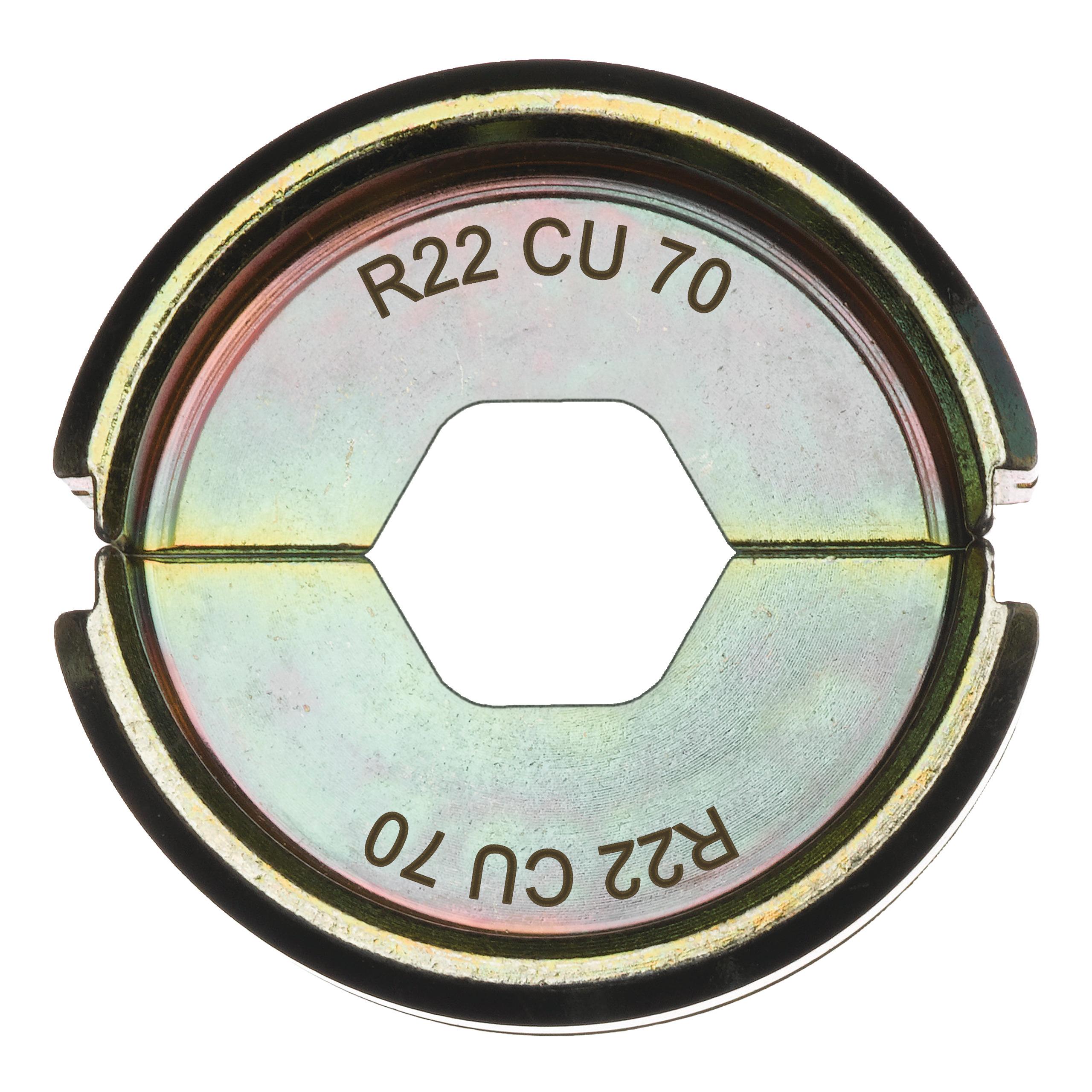 Krimpovací čelisti  R22 Cu 70