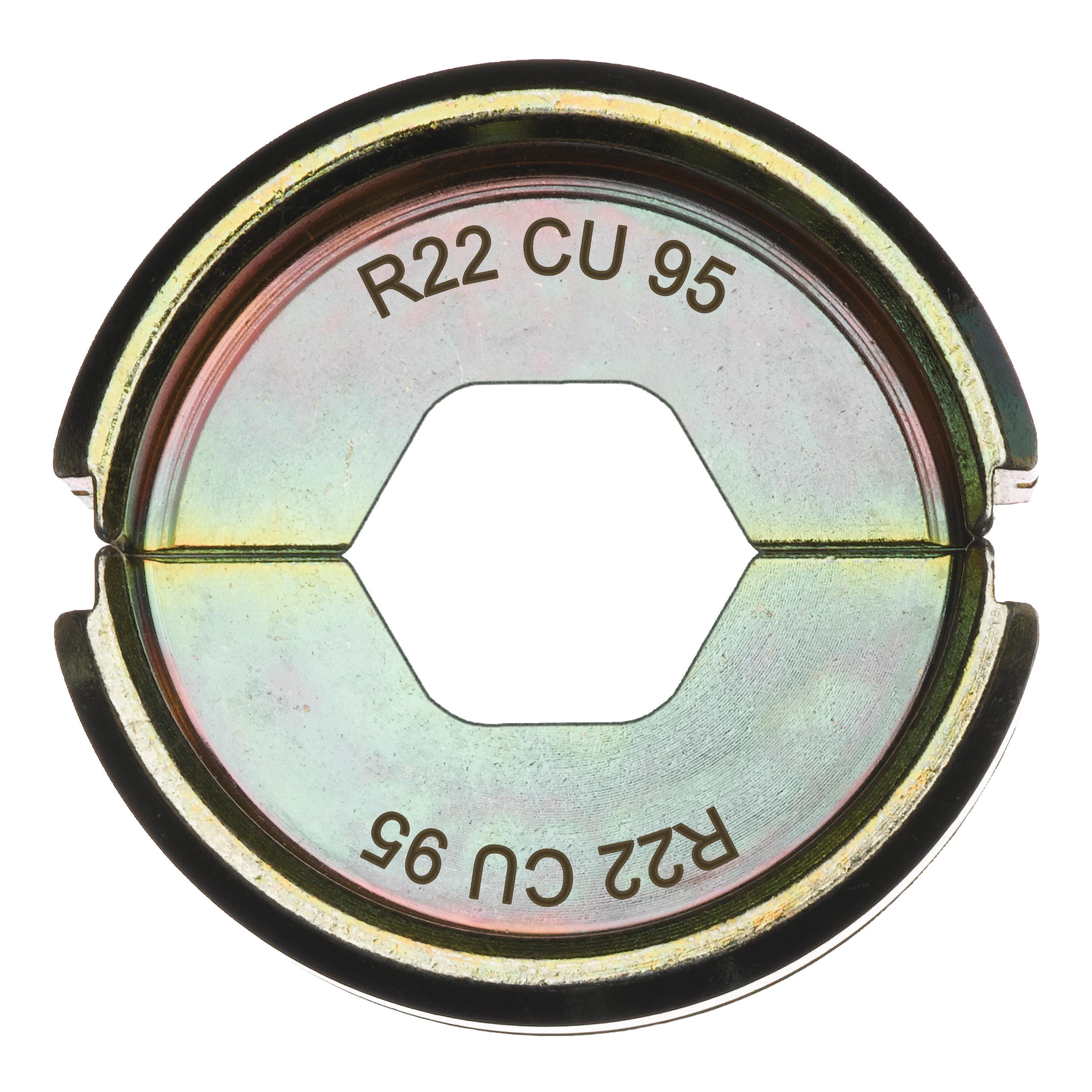 Krimpovací čelisti  R22 Cu 95