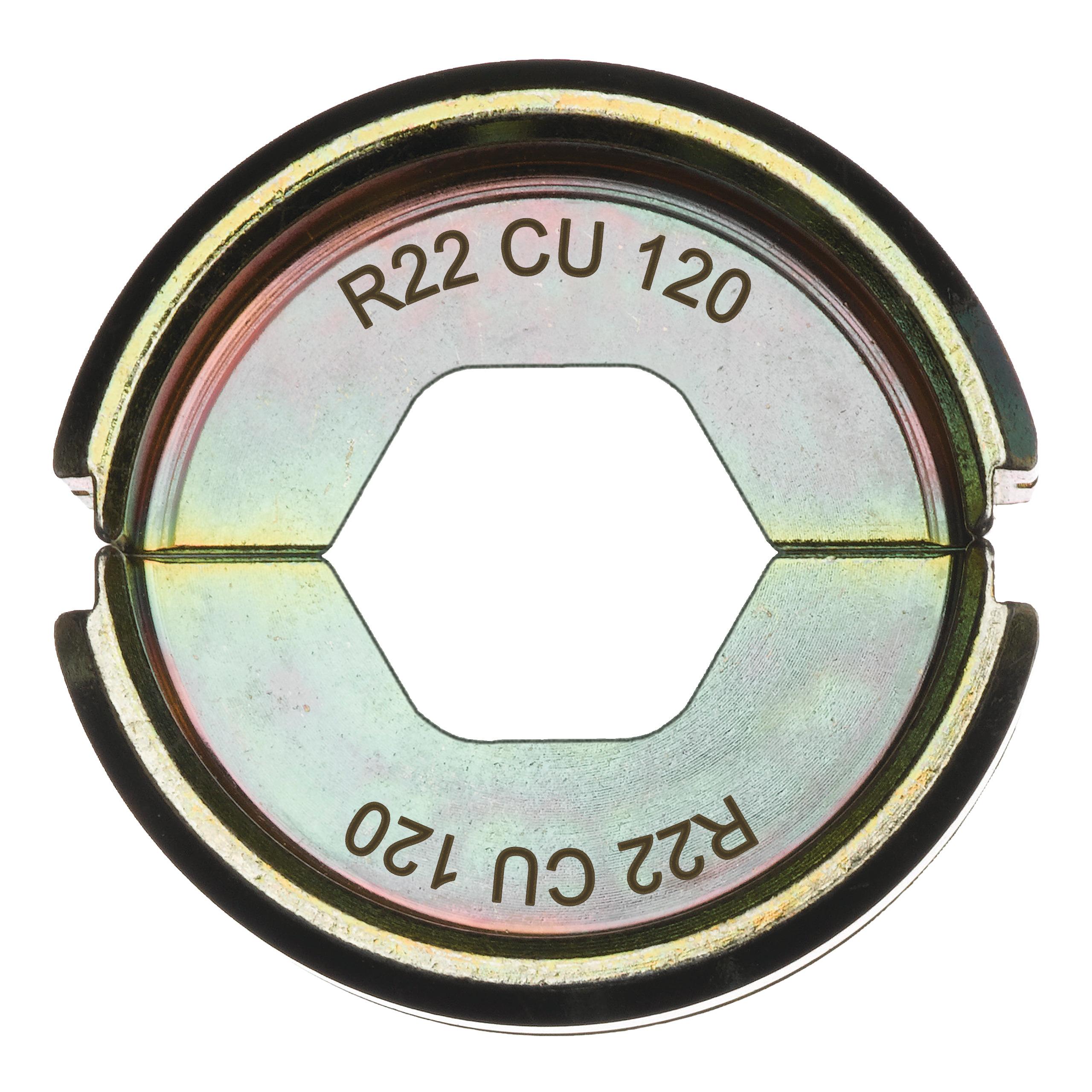 Krimpovací čelisti  R22 Cu 120