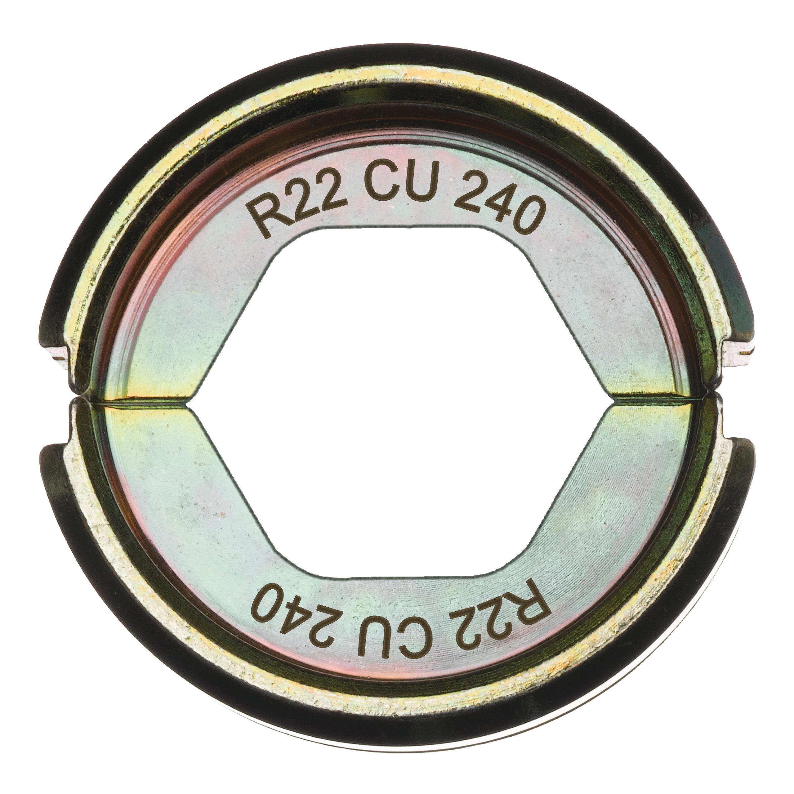 Krimpovací čelisti  R22 Cu 240