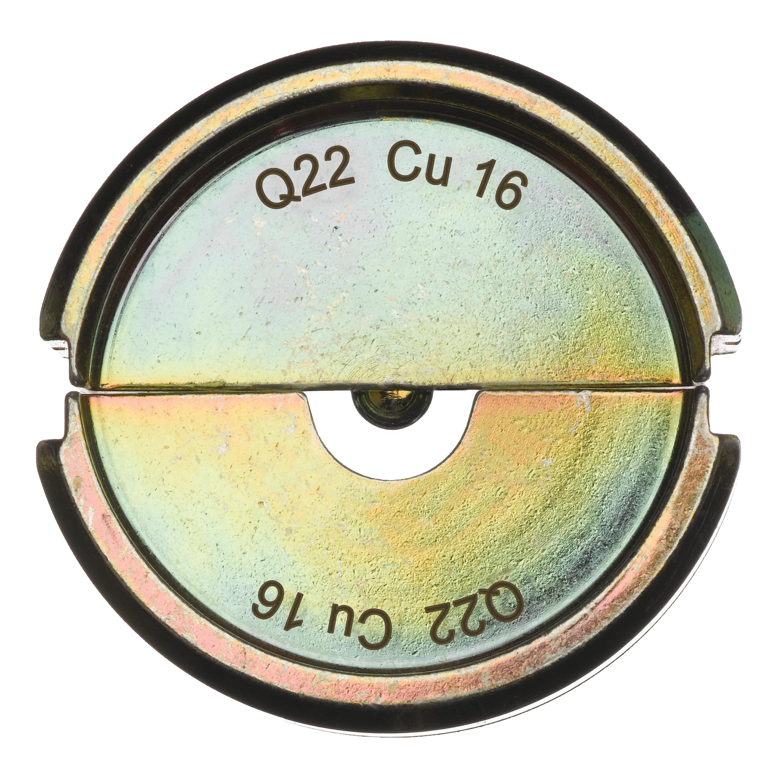 Krimpovací čelisti  Q22 CU 16