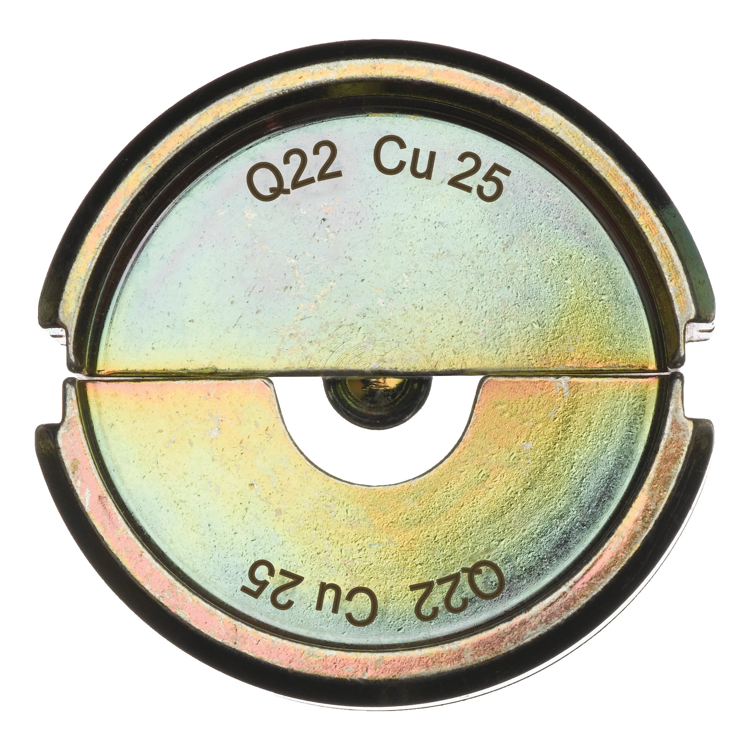 Krimpovací čelisti  Q22 CU 25
