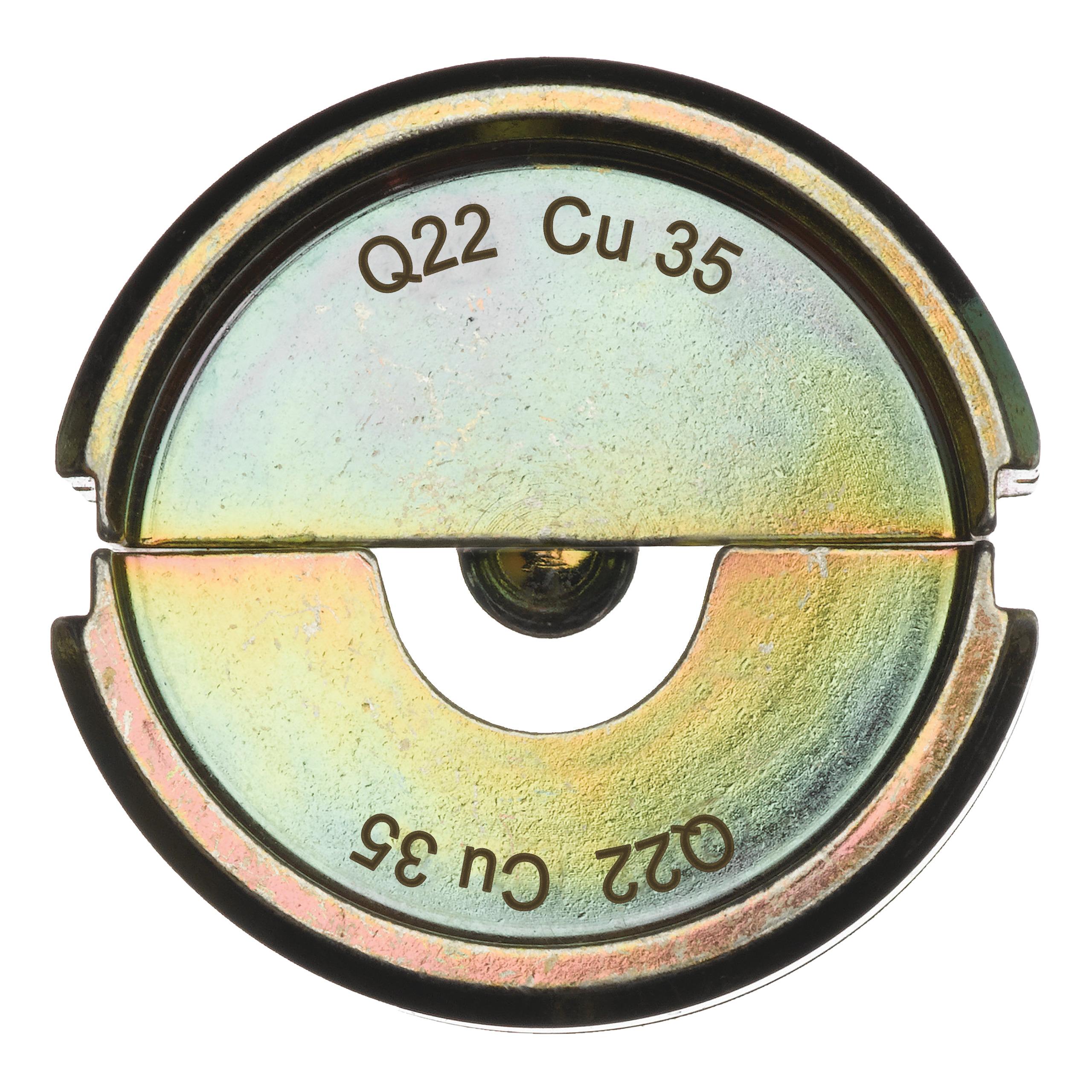 Krimpovací čelisti  Q22 CU 35
