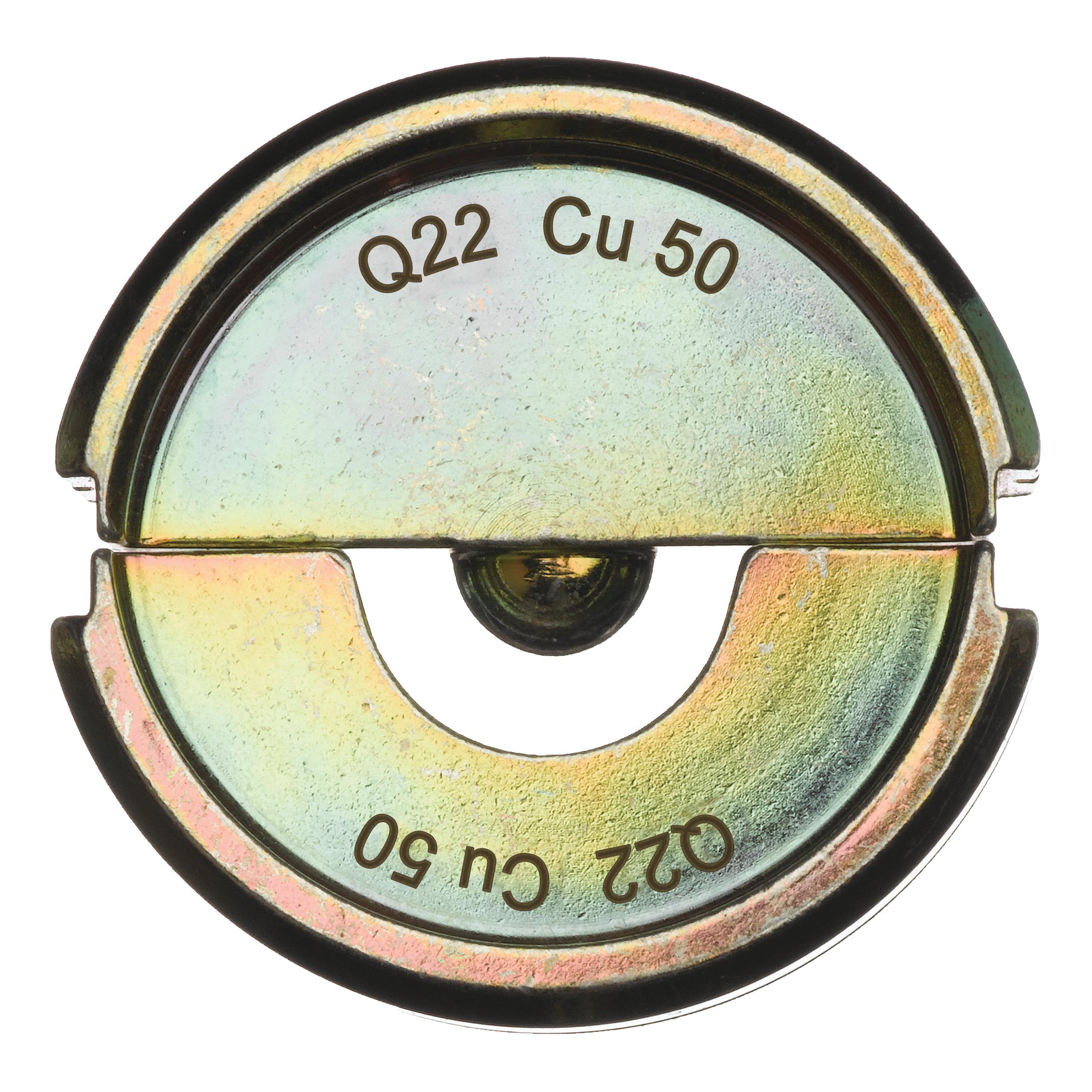 Krimpovací čelisti  Q22 CU 50