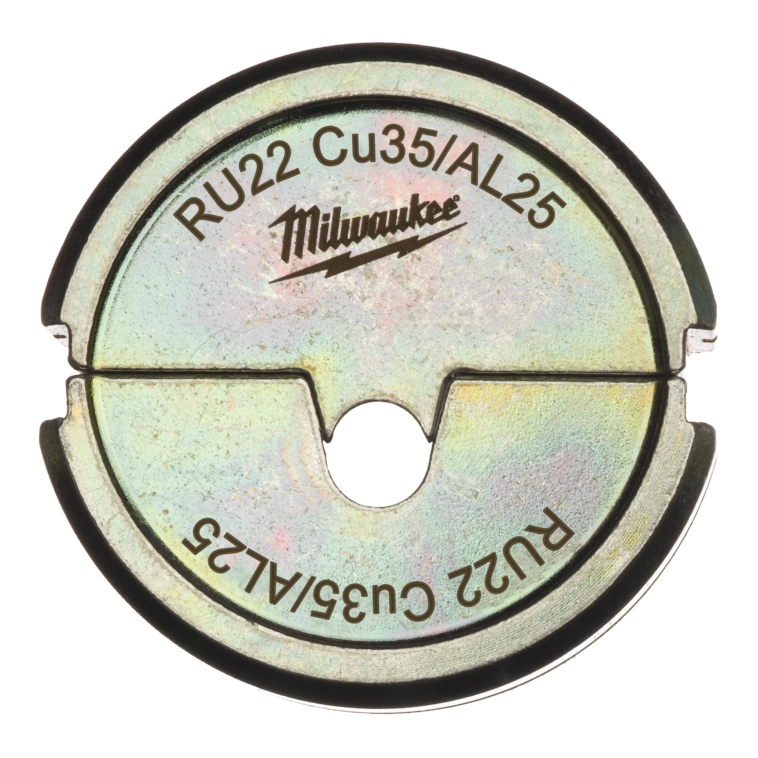 Krimpovací čelisti  RU22 Cu35/AL25