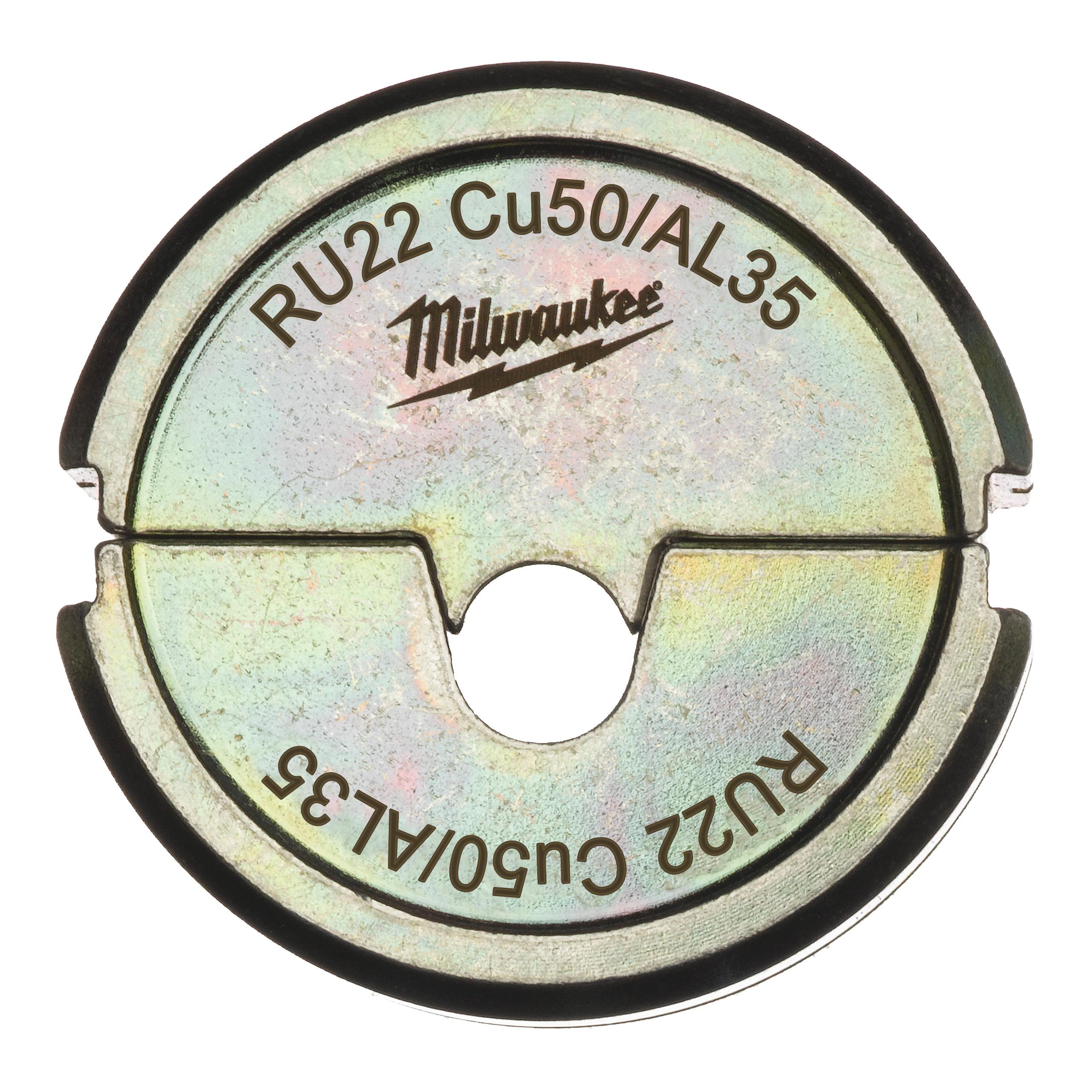 Krimpovací čelisti  RU22 Cu50/AL35