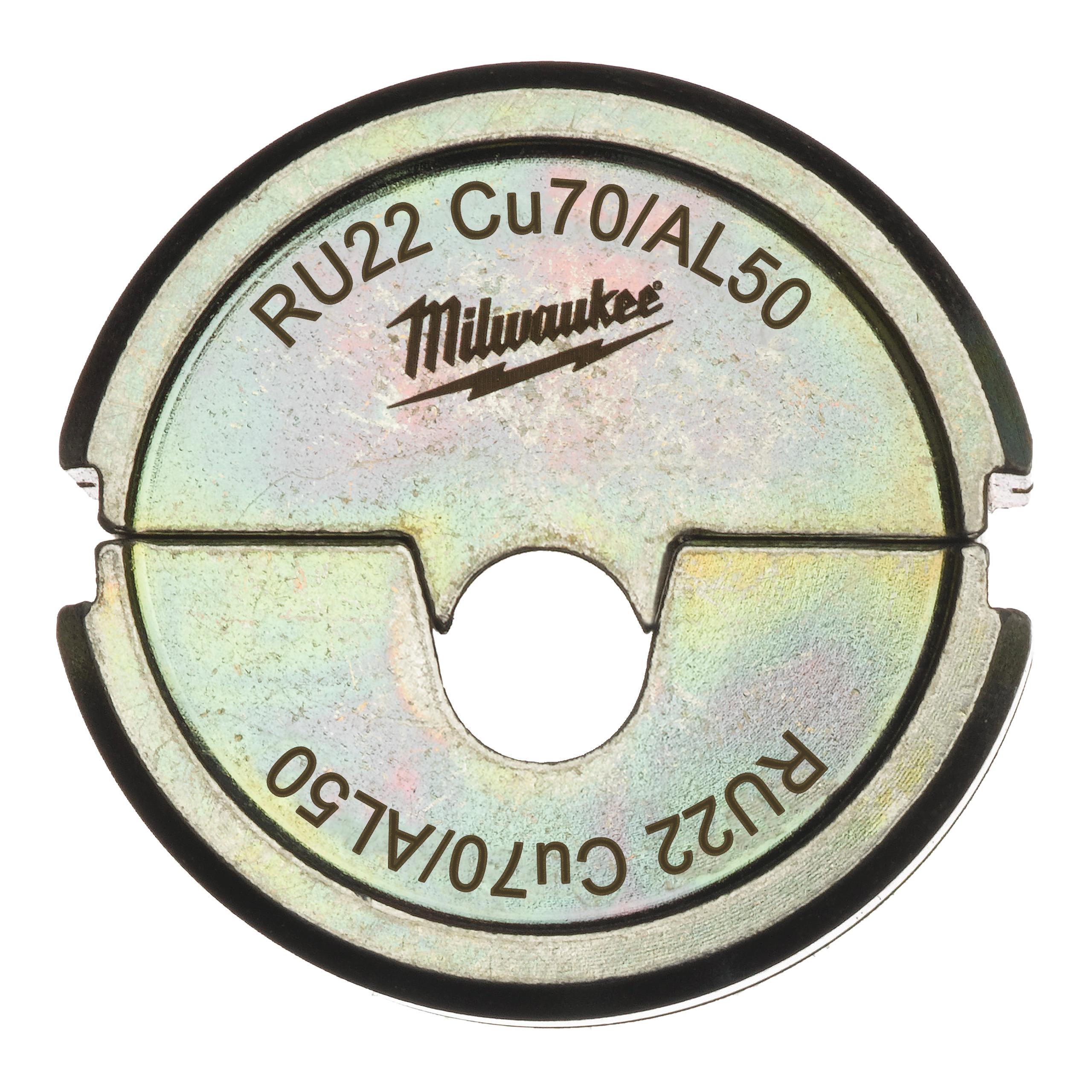 Krimpovací čelisti  RU22 Cu70/AL50