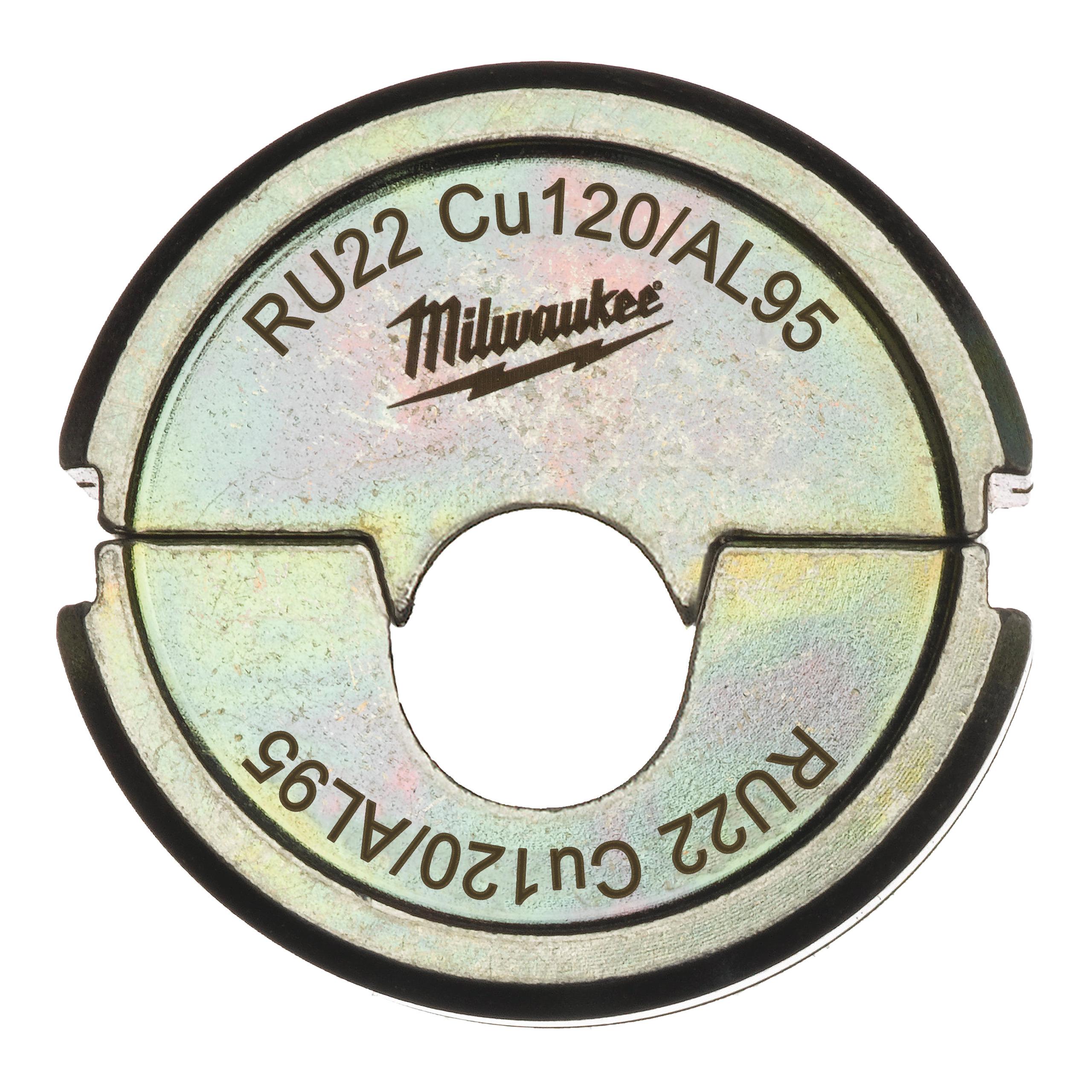Krimpovací čelisti  RU22 Cu120/AL95