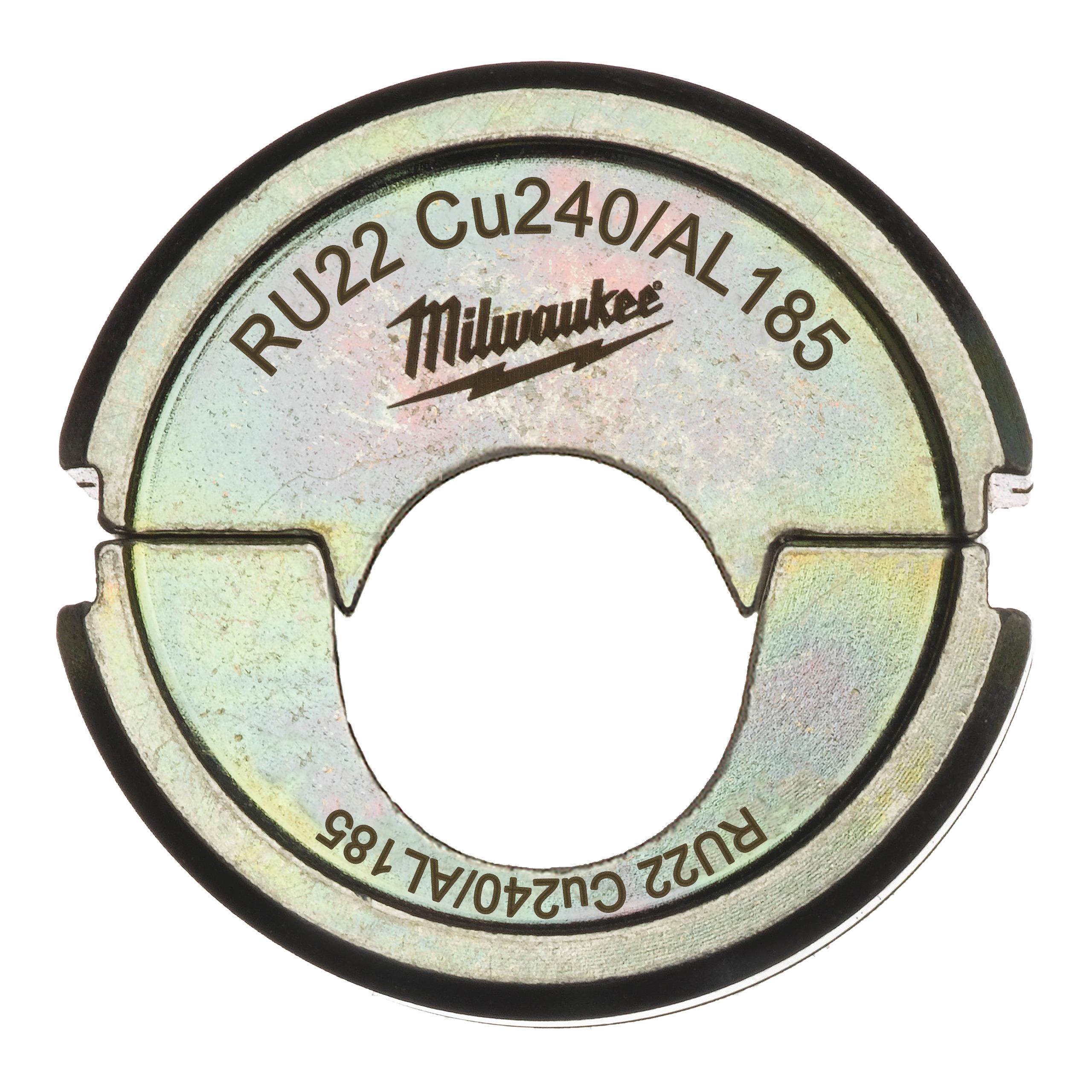 Krimpovací čelisti  RU22 Cu240/AL185