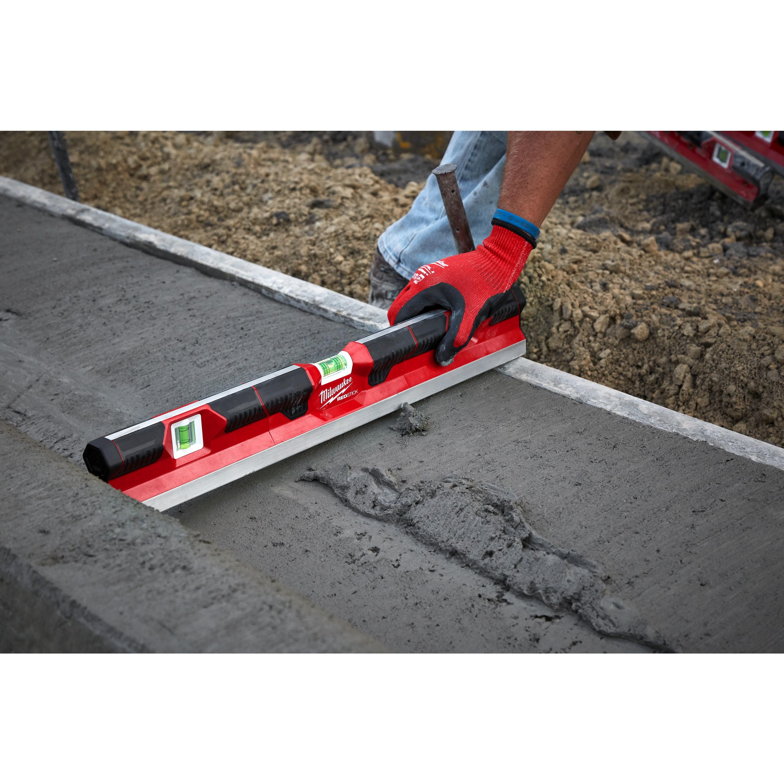 REDSTICK vodováha na beton 60cm