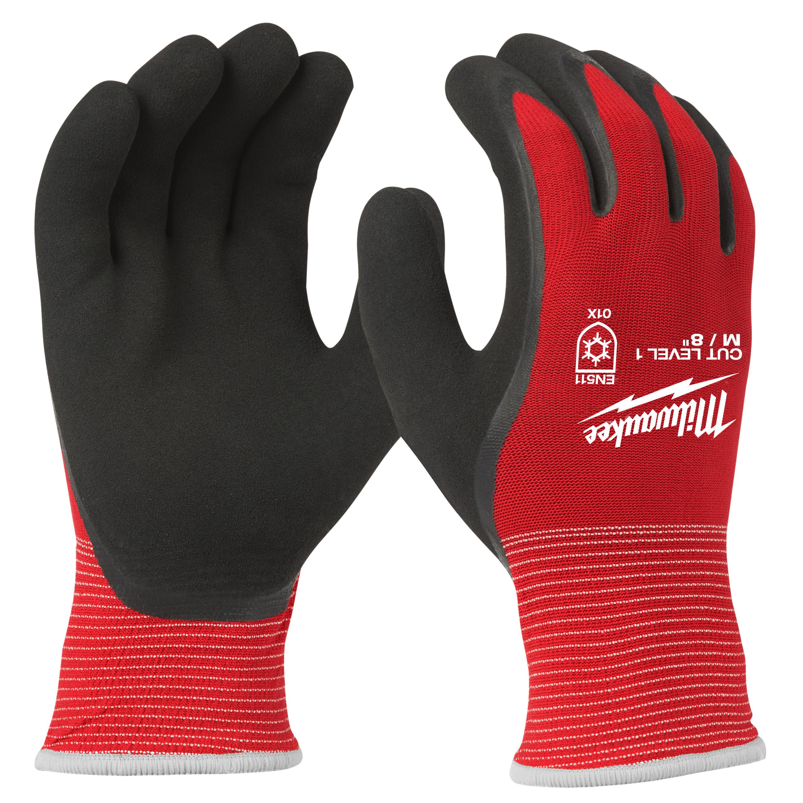 Zimní rukavice odolné proti proříznutí Stupeň 1 -  vel M/8 - 1ks