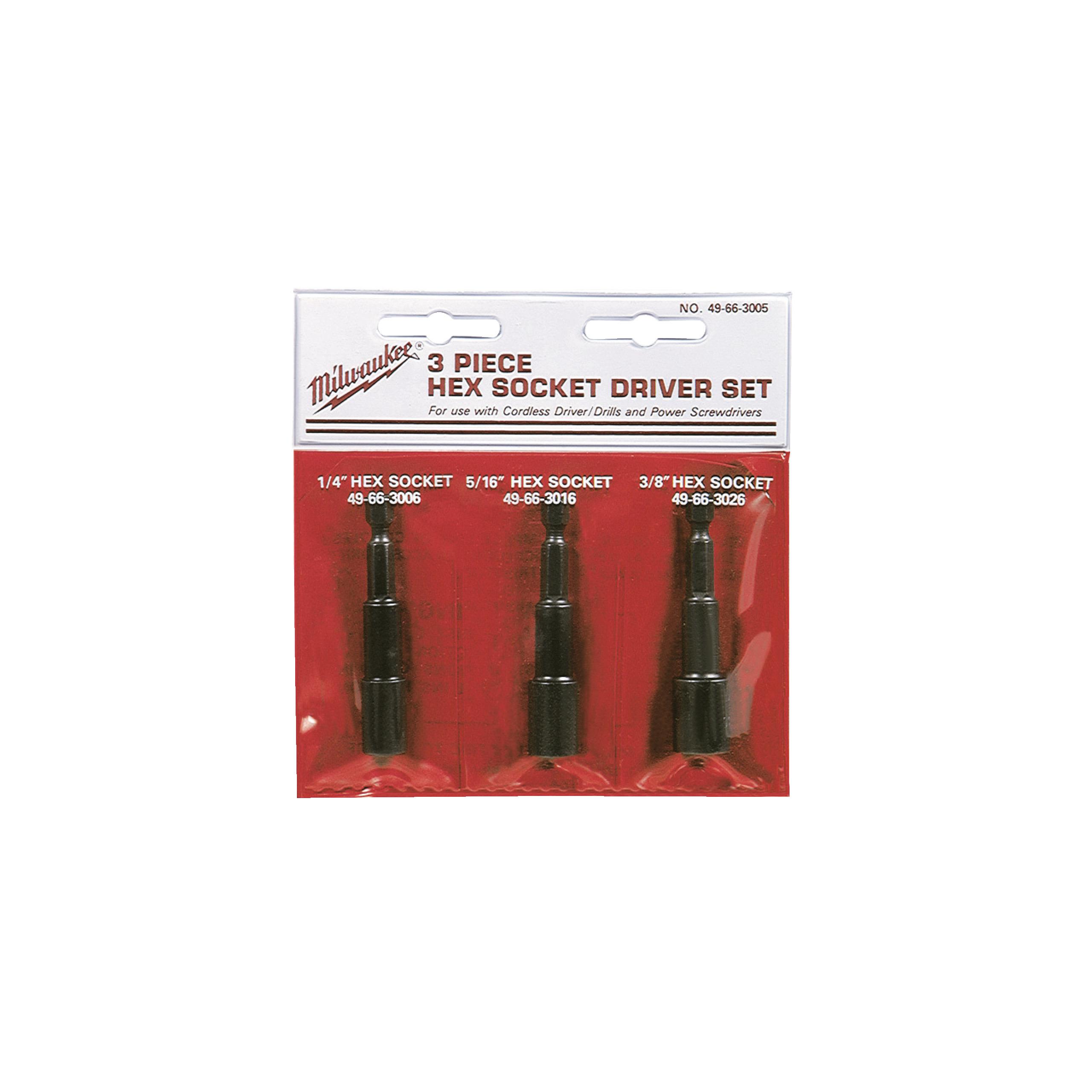 Magnetické šestihranné nástavce 6/8/10mm