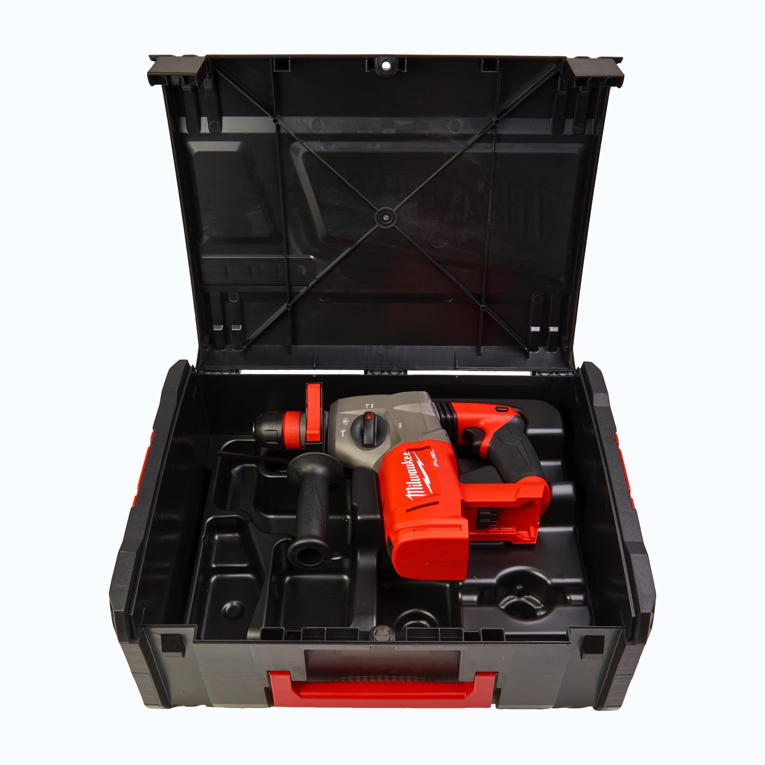 M18 FUEL™ vysoce výkonné 4-režimové kladivo SDS-plus se sklíčidlem FIXTEC™